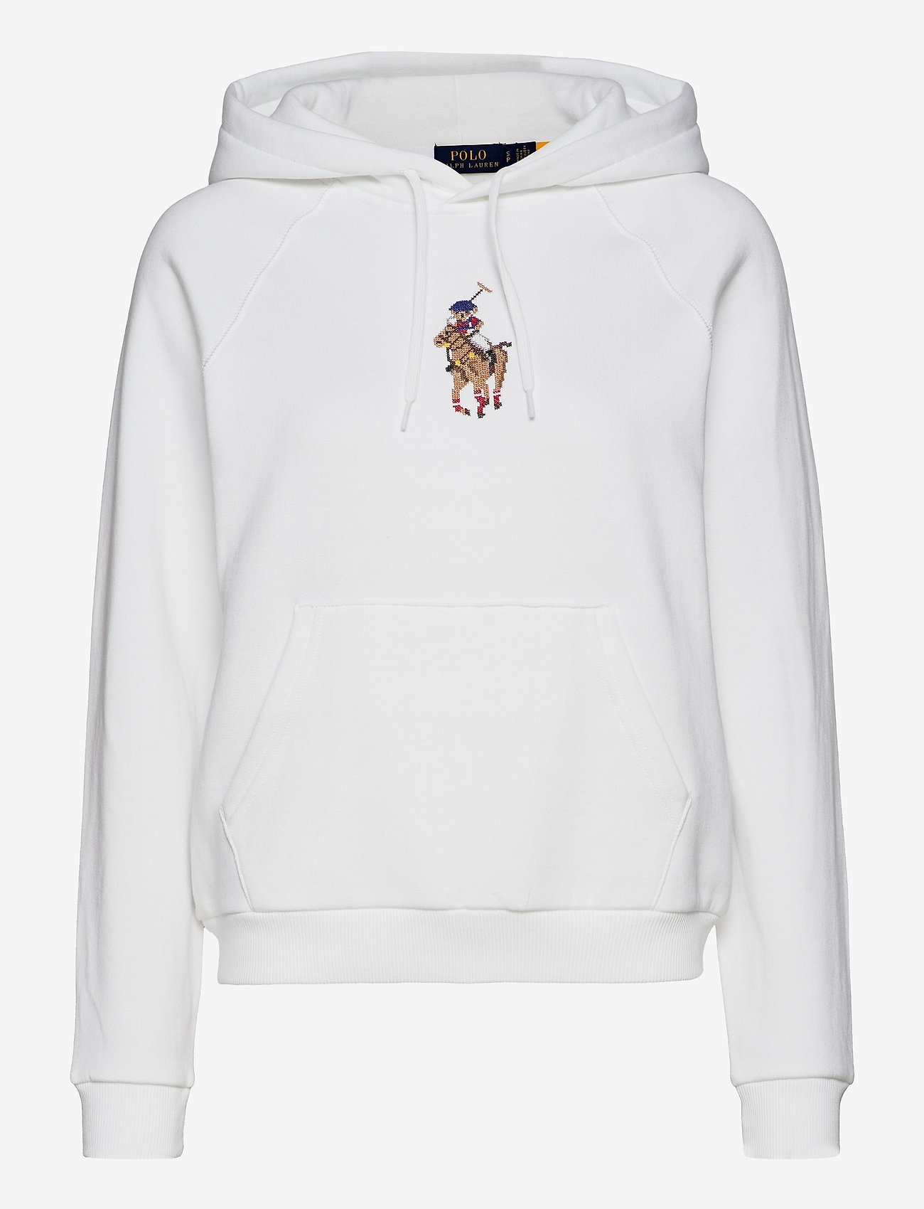 Polo Ralph Lauren - Polo Bear Embroidered Hoodie - hoodies - white - 0