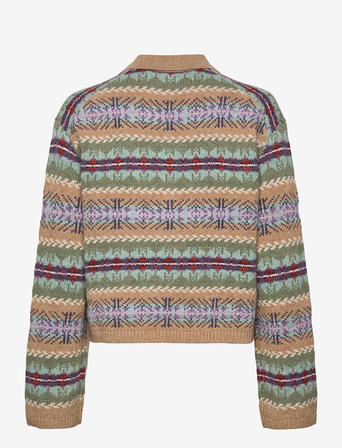 Polo Ralph Lauren - Fair Isle Wool Pullover - jumpers - green multi - 1