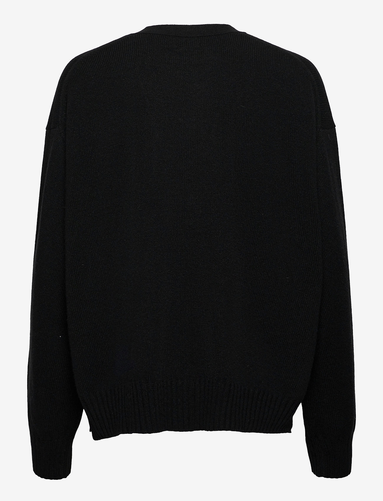 Polo Ralph Lauren - Wool-Blend Buttoned Cardigan - cardigans - polo black - 1
