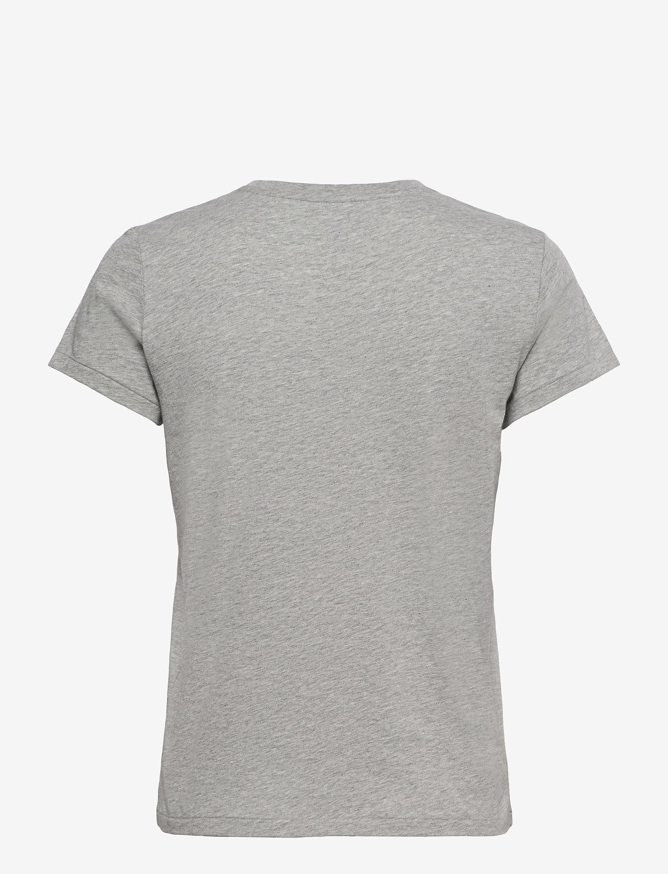 Polo Ralph Lauren - 40/1 COTTON JERSEY-SSL-TSH - t-shirts - andover heather - 1