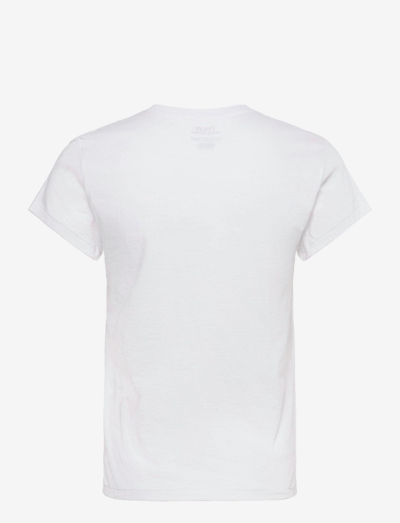 Polo Ralph Lauren - 40/1 COTTON JERSEY-SSL-TSH - t-shirts - white - 1
