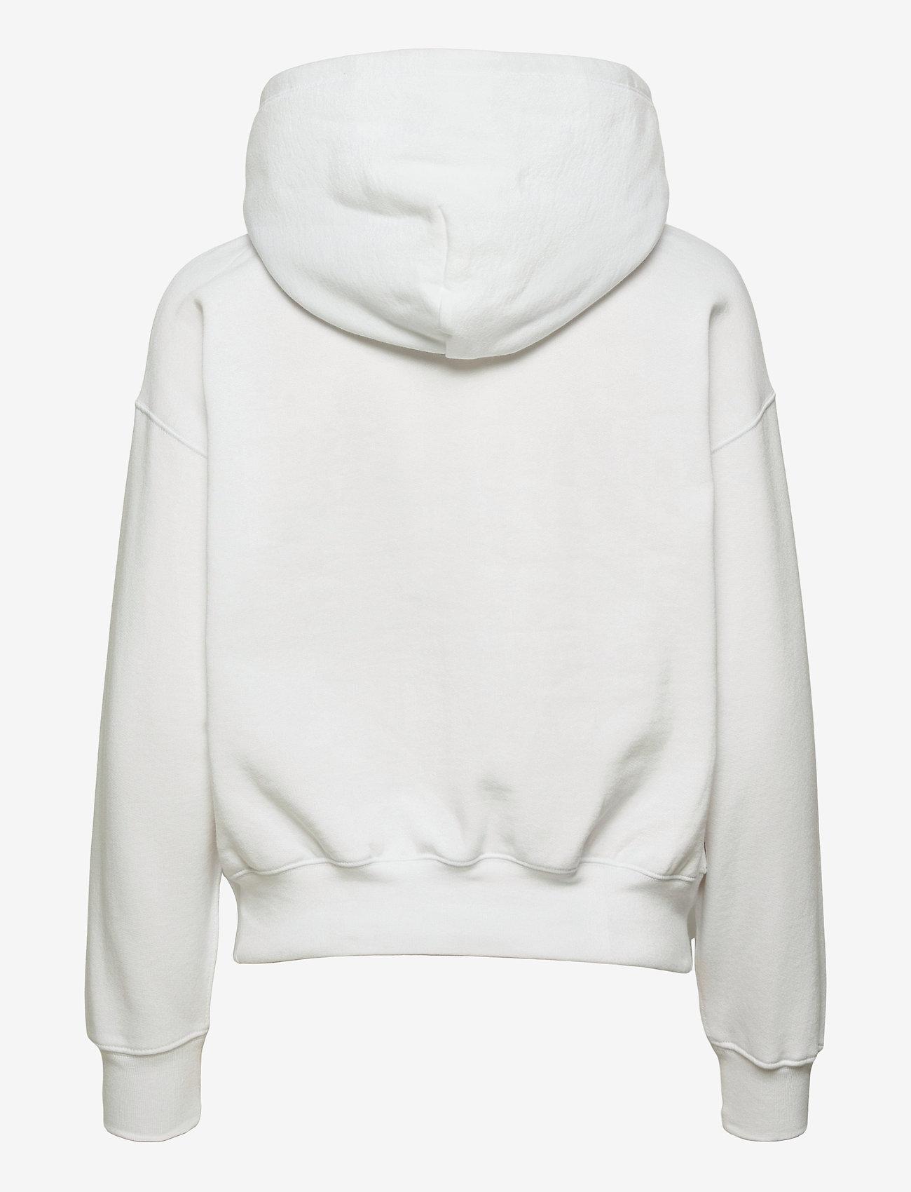 Polo Ralph Lauren - LW SEASONAL FLEECE-LSL-SWS - hættetrøjer - white - 1