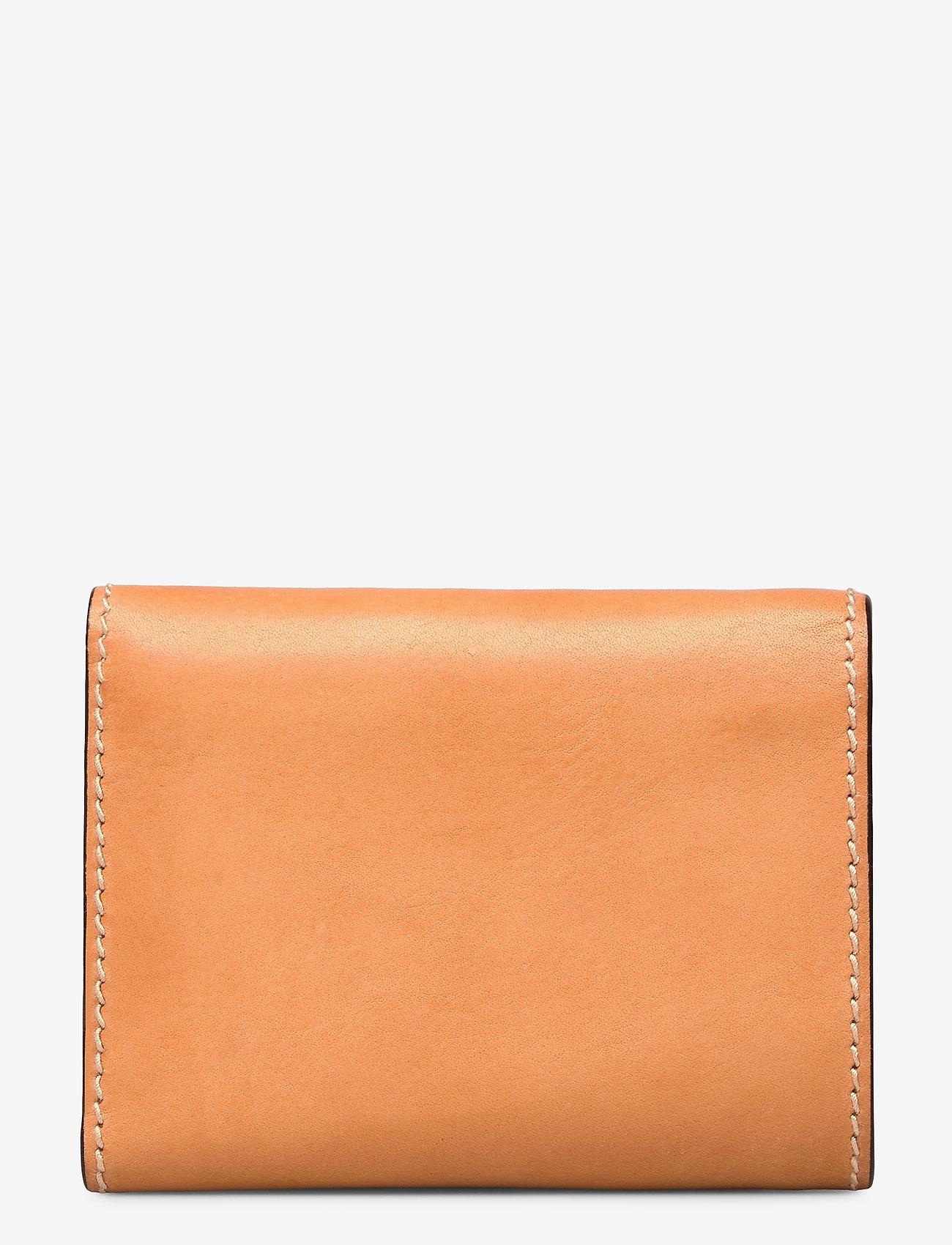 Polo Ralph Lauren - Tartan Wool Compact Wallet - wallets - natural - 1