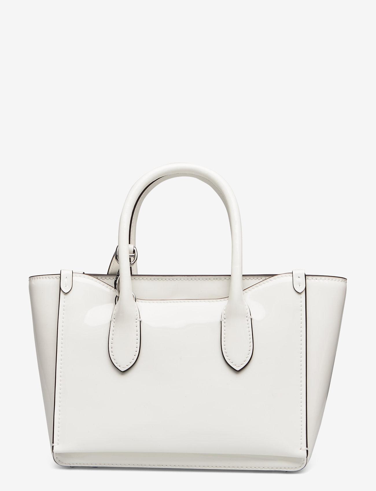 Polo Ralph Lauren - Leather Mini Sloane Satchel - shoulder bags - white - 1