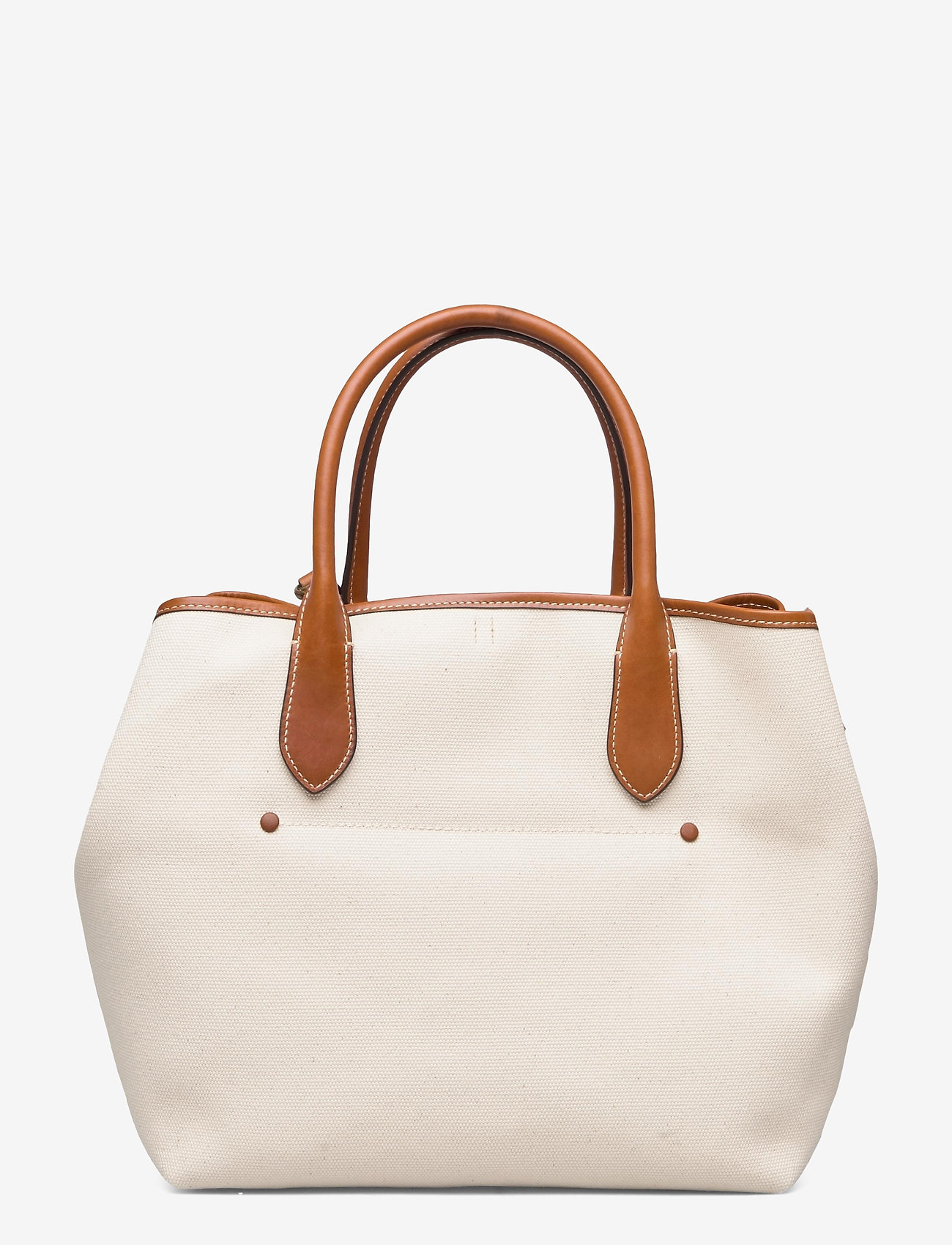Polo Ralph Lauren - POLO CANVAS-MD OPEN TOTE-TTE-MED - håndtasker - natural - 1