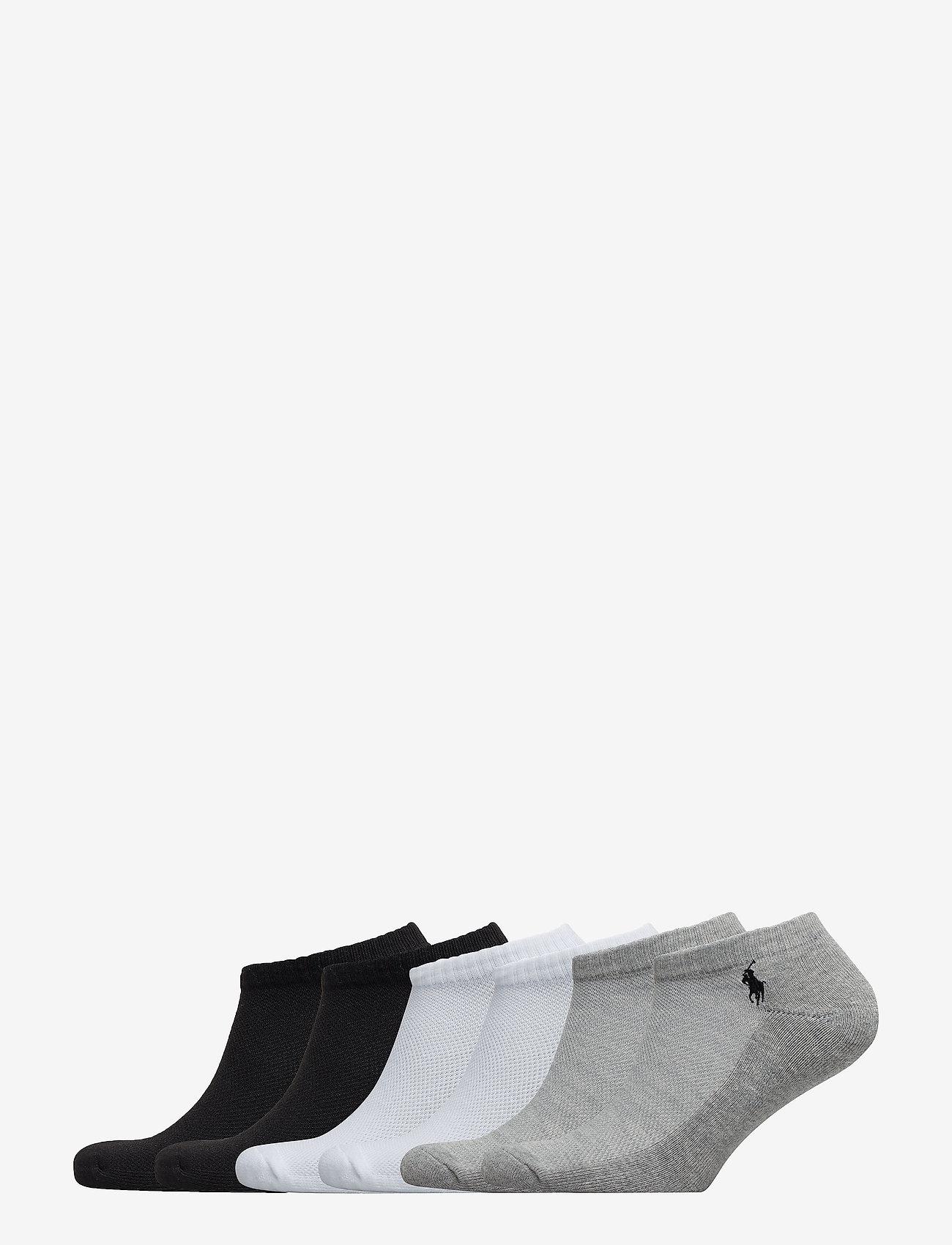 Polo Ralph Lauren - Low-Profile Sport Sock 6-Pack - ankle socks - ast 991 - 0