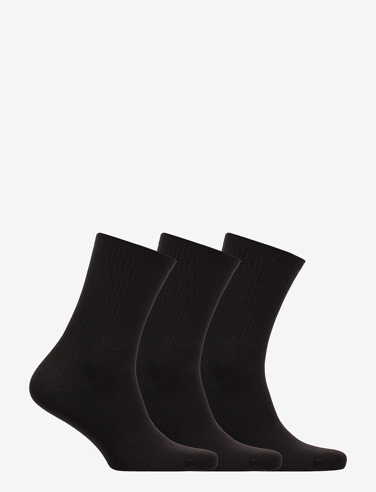 Supersoft Crew Sock 3-pack (Black) - Polo Ralph Lauren xMDeAf