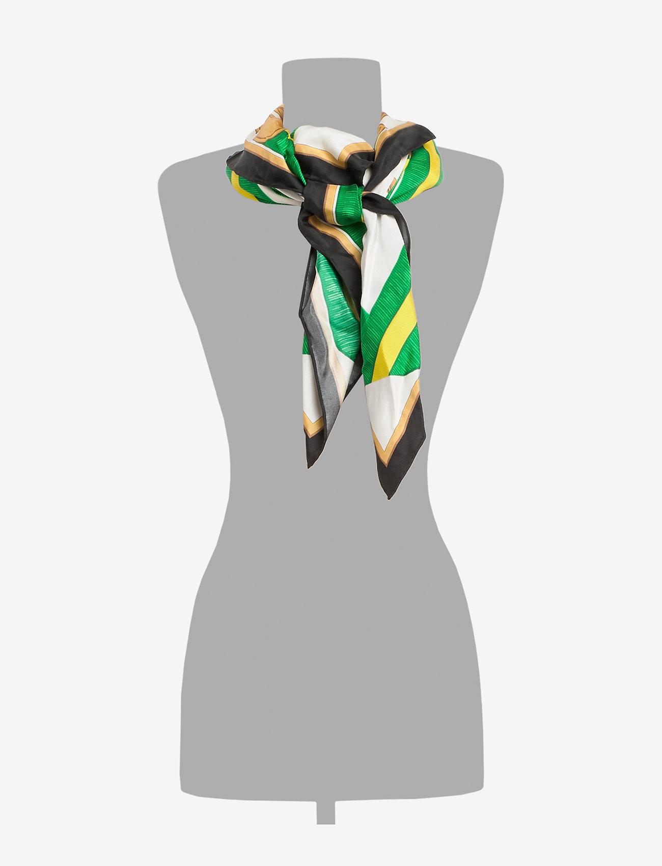 Polo Ralph Lauren - Equestrian Silk Scarf - skjerf - white multi