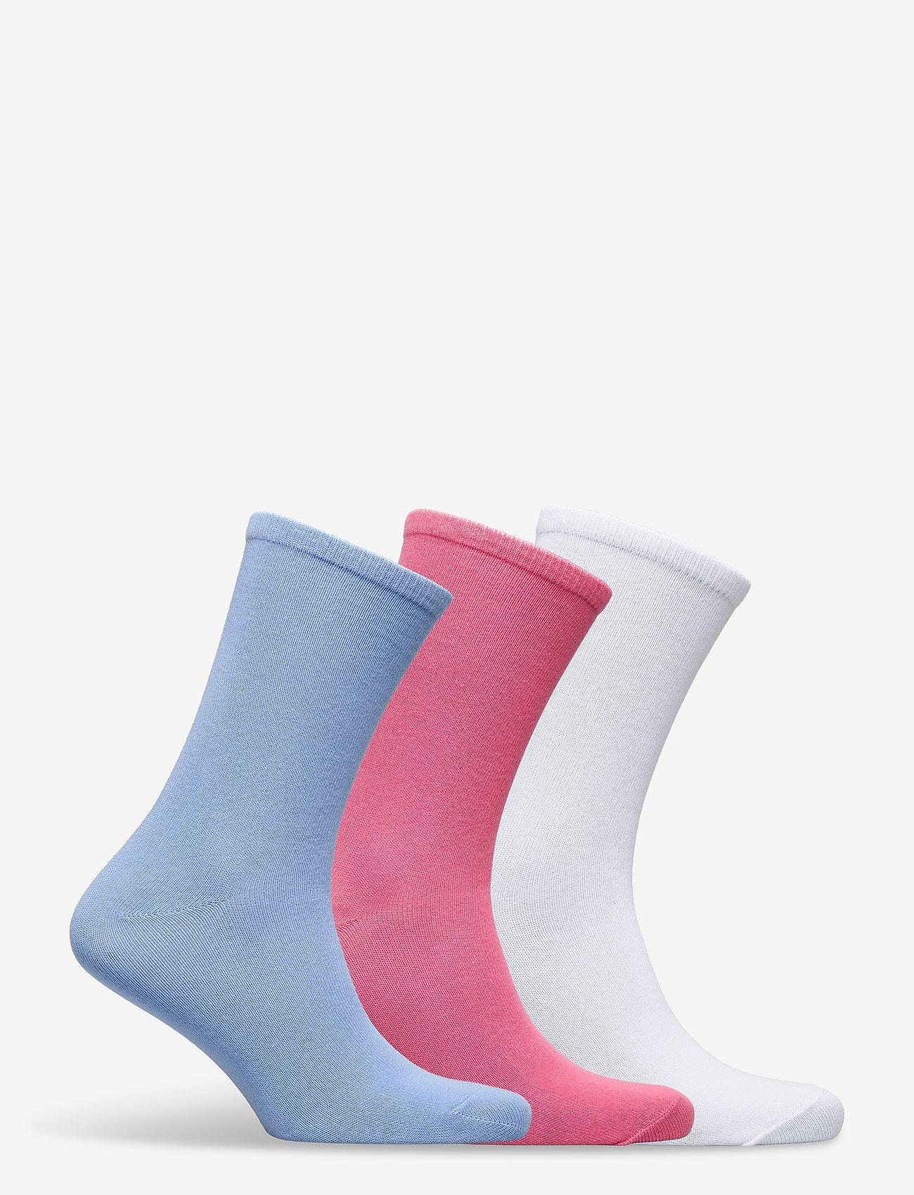 Polo Ralph Lauren - OMBRE POLO-CREW SOCK-3 PACK - sokker - whast nrf 150 - 1