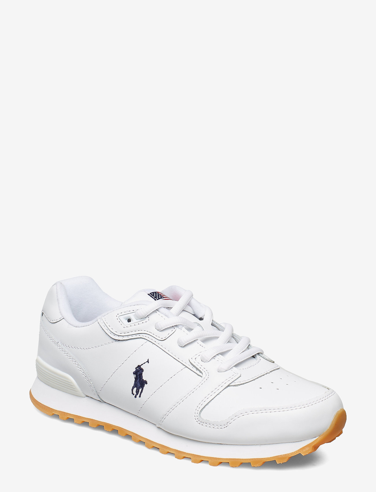 Polo Ralph Lauren - Classic Runner Leather Sneaker - low top sneakers - white - 0