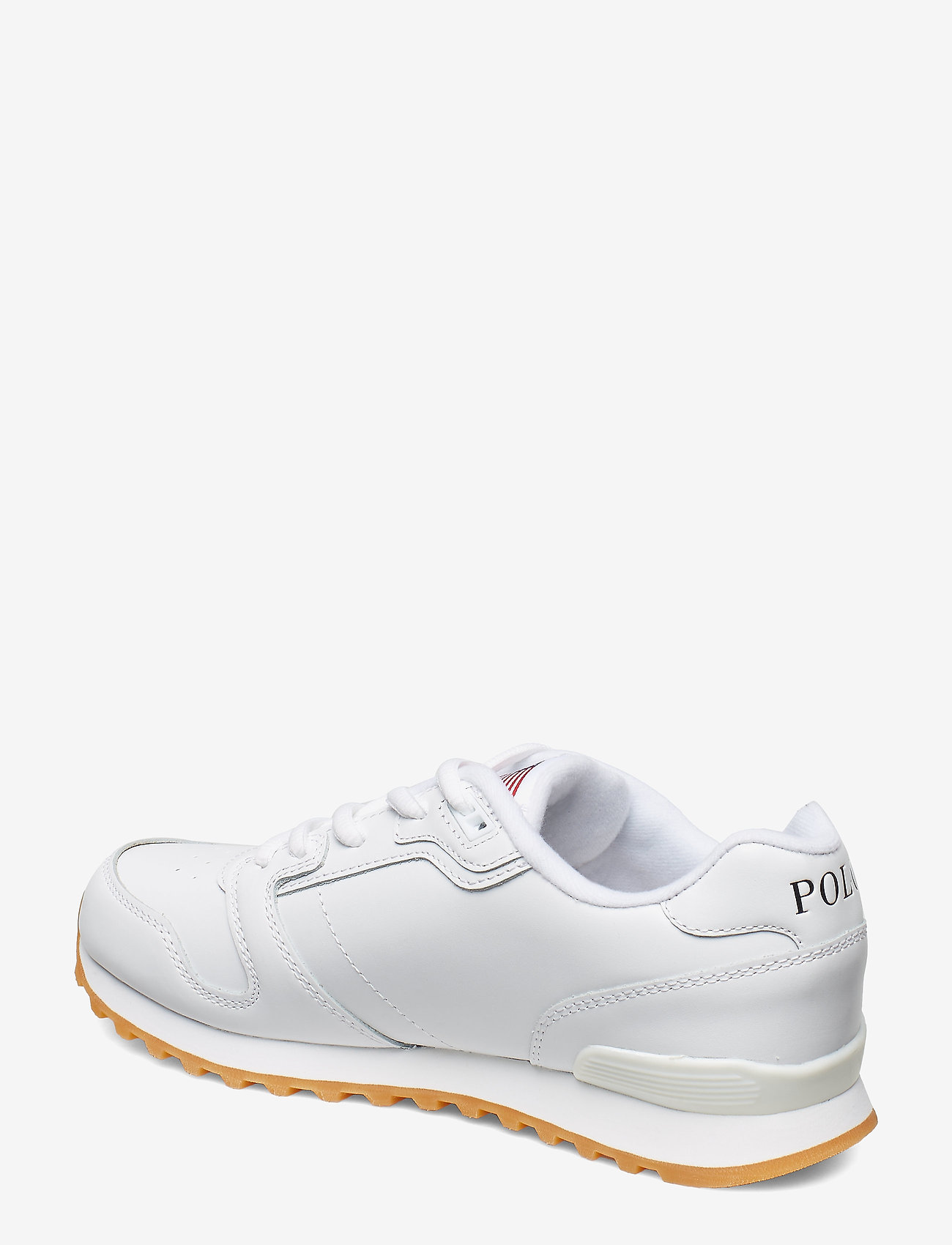 Polo Ralph Lauren - Classic Runner Leather Sneaker - low top sneakers - white - 1
