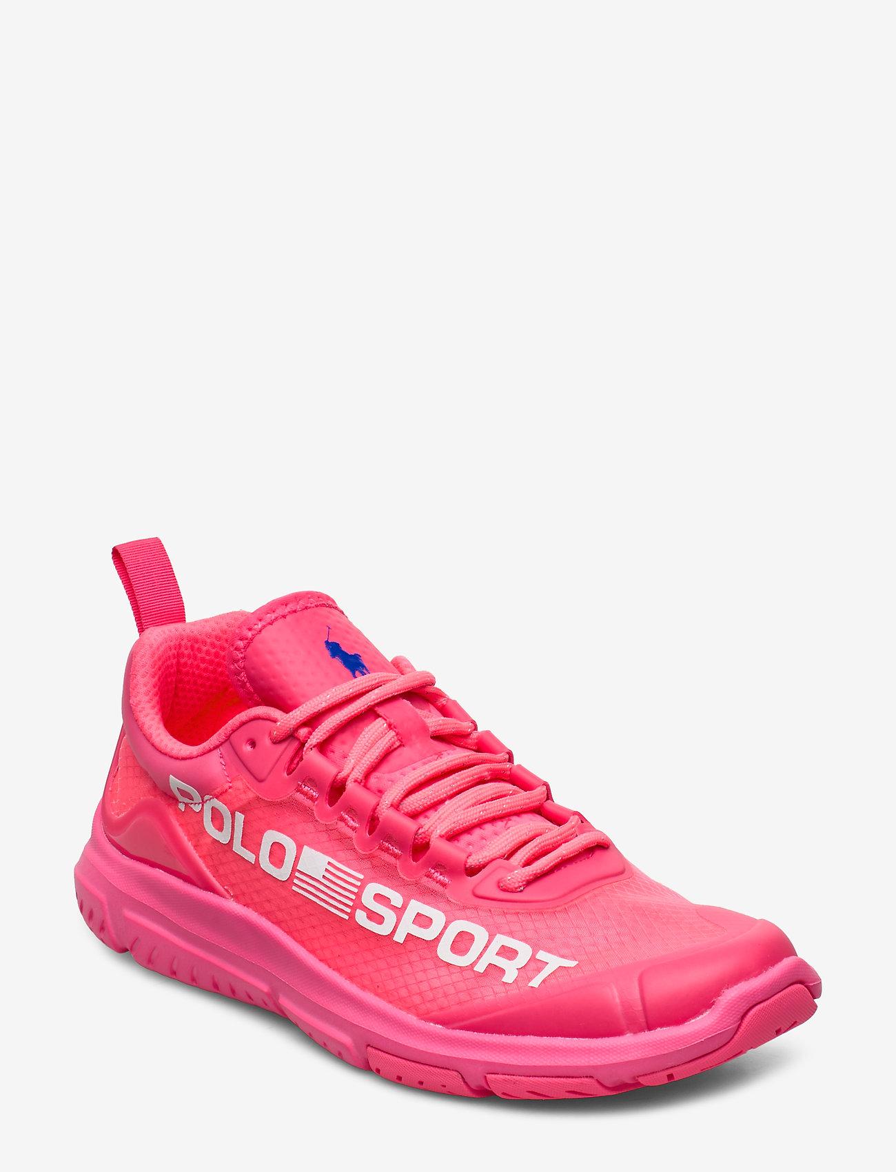 Polo Ralph Lauren - Polo Sport Tech Sneaker - low top sneakers - neon fuschia - 0