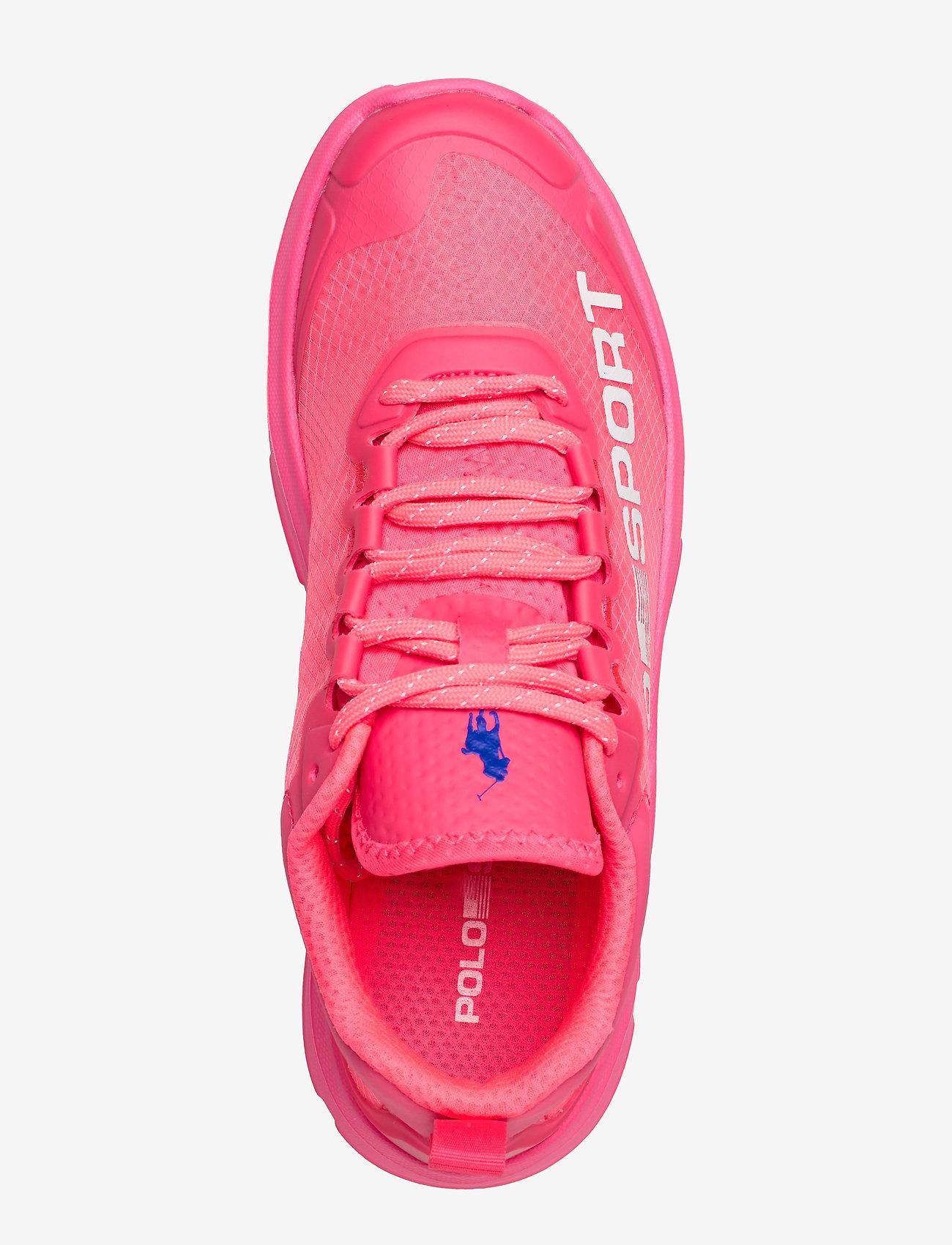 Polo Sport Tech Sneaker (Neon Fuschia) - Polo Ralph Lauren