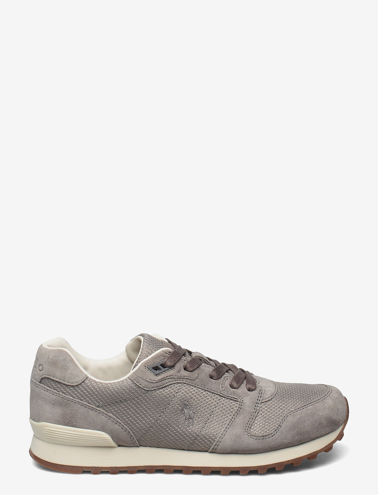 Polo Ralph Lauren - Classic Runner Suede & Mesh Sneaker - low top sneakers - grey - 1