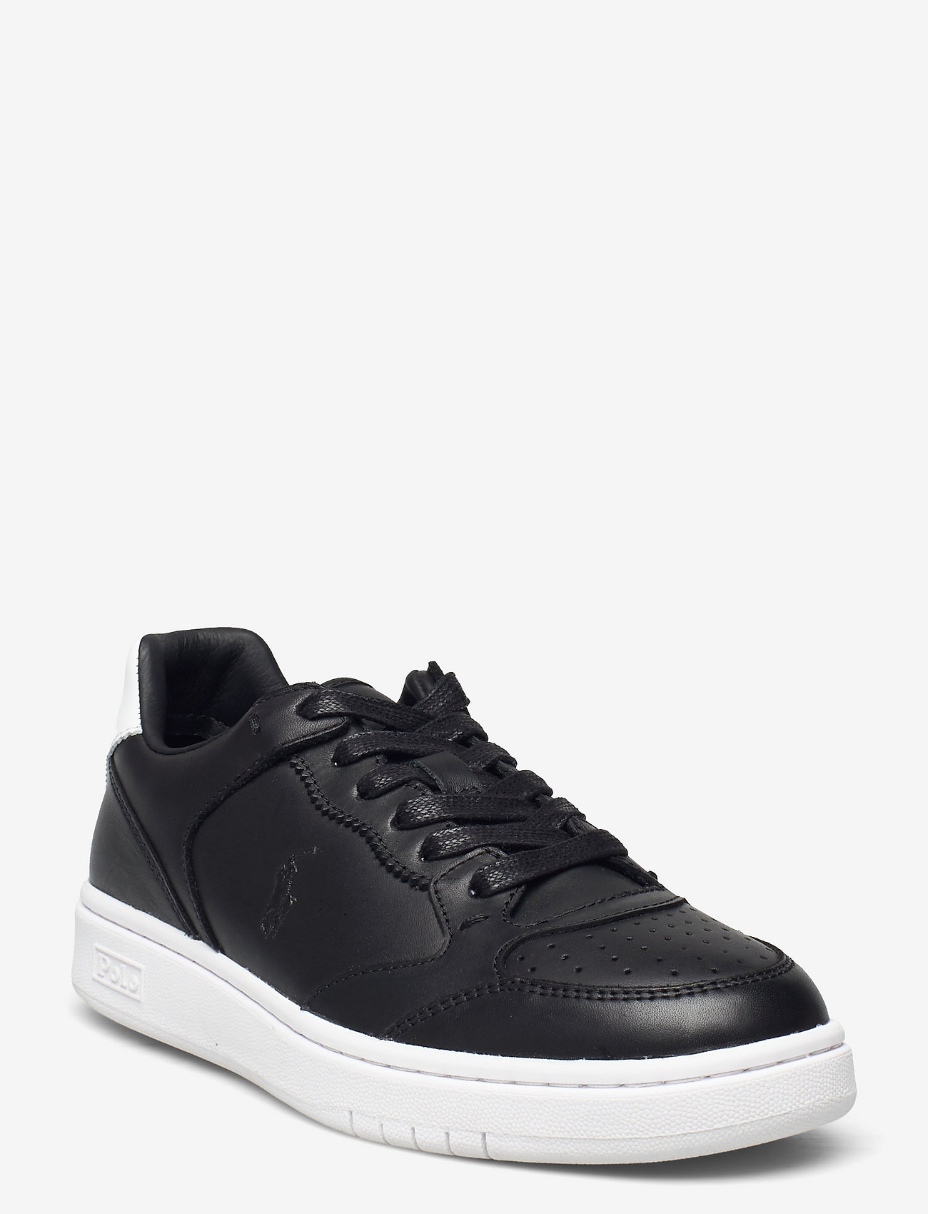 Polo Ralph Lauren - Court Leather Sneaker - low top sneakers - black - 0