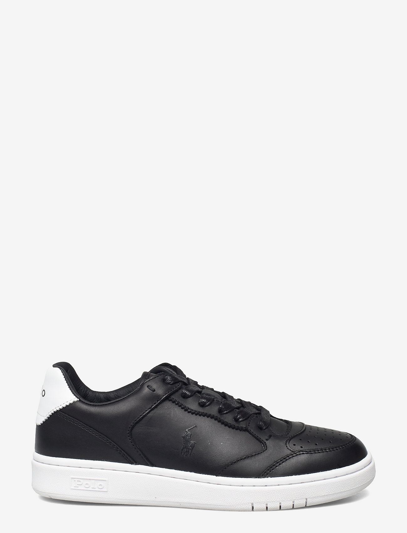 Polo Ralph Lauren - Court Leather Sneaker - low top sneakers - black - 1