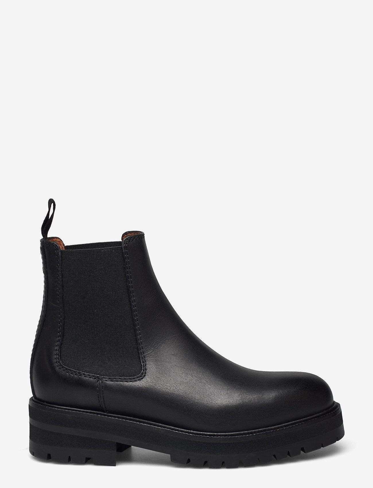 Polo Ralph Lauren - Calfskin Lug Chelsea Boot - chelsea boots - black - 1