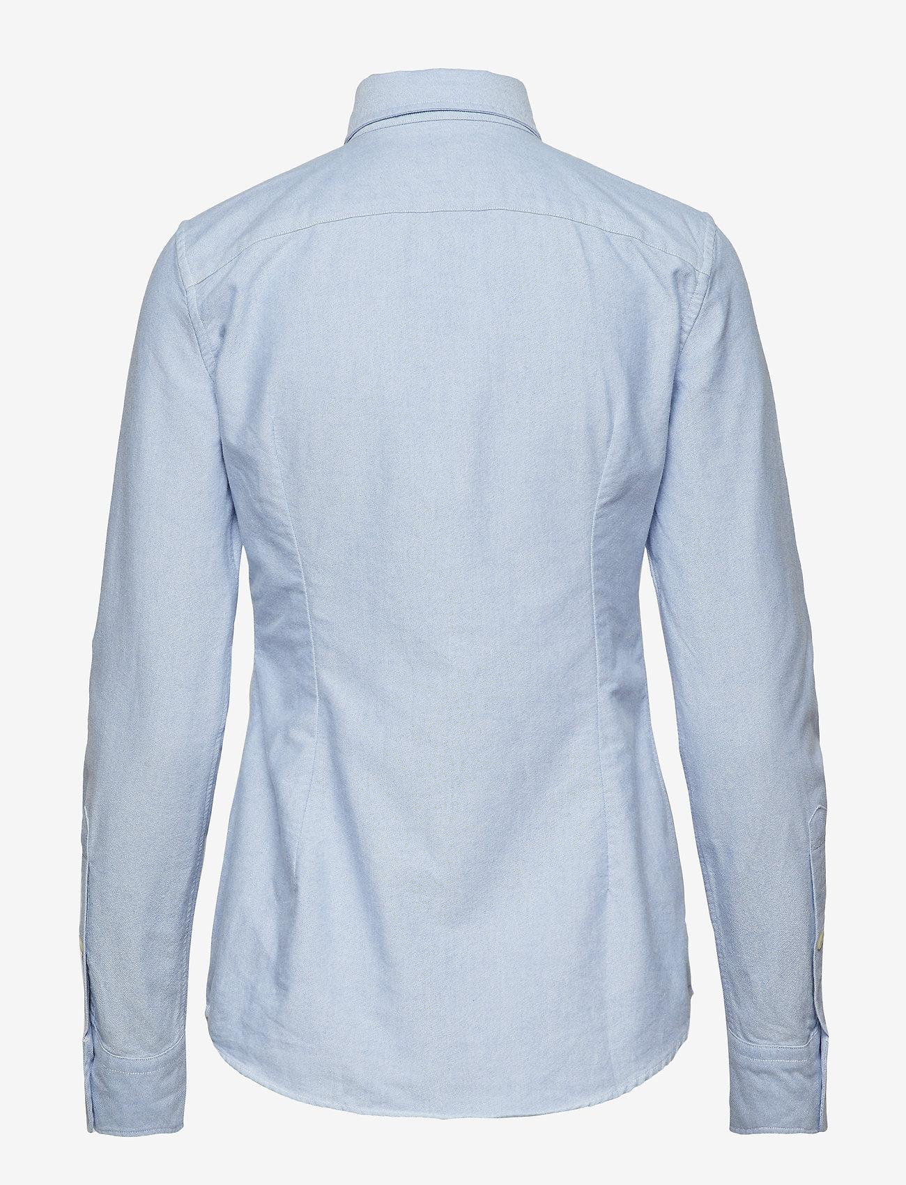 Polo Ralph Lauren - Custom Fit Cotton Oxford Shirt - chemises à manches longues - bsr blue - 1