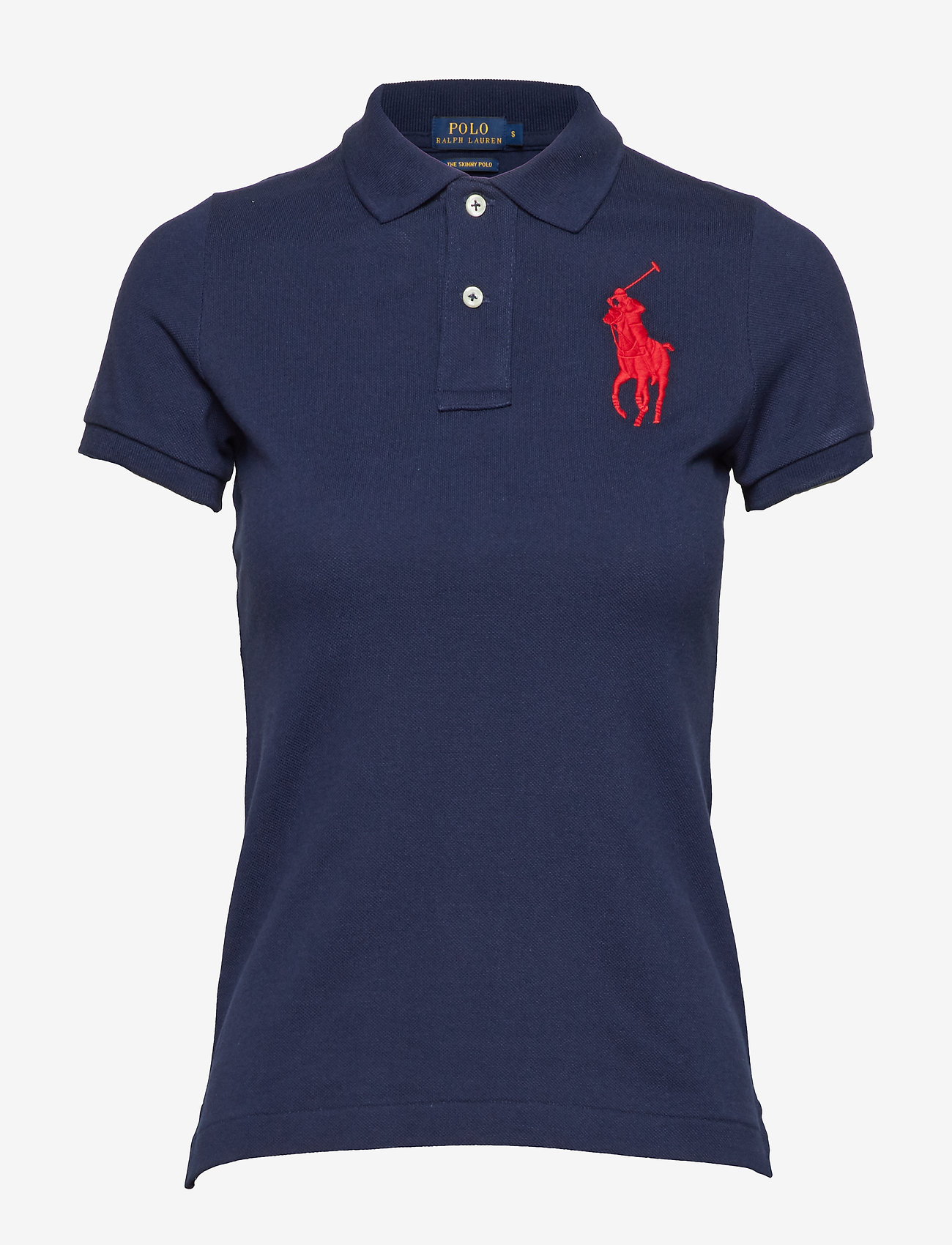 Polo Ralph Lauren - Skinny-Fit Big Pony Polo Shirt - poloskjorter - newport navy - 1