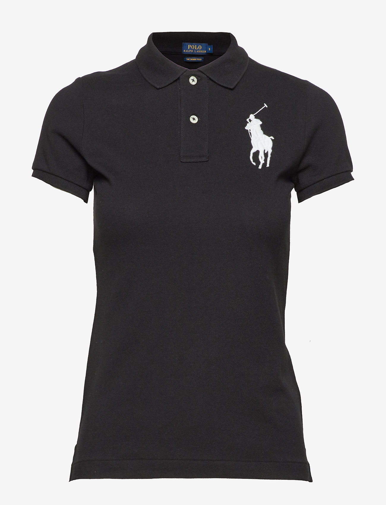 Polo Ralph Lauren - Skinny-Fit Big Pony Polo Shirt - polo shirts - polo black - 0
