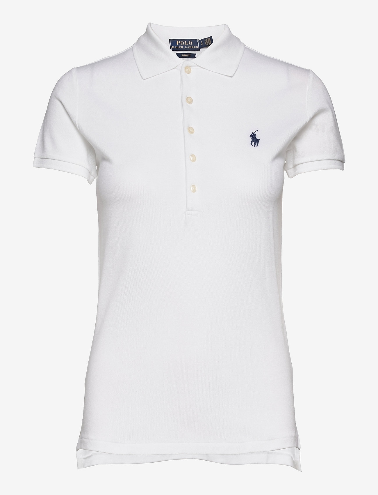 Polo Ralph Lauren - Slim Fit Polo Shirt - polohemden - white - 1