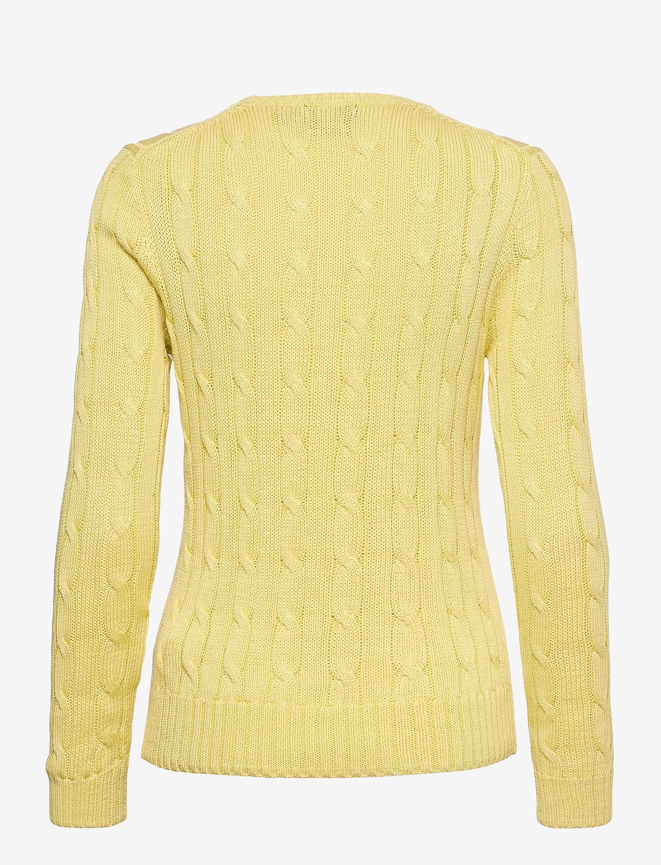 Polo Ralph Lauren - Cable-Knit Cotton Sweater - trøjer - bristol yellow - 1