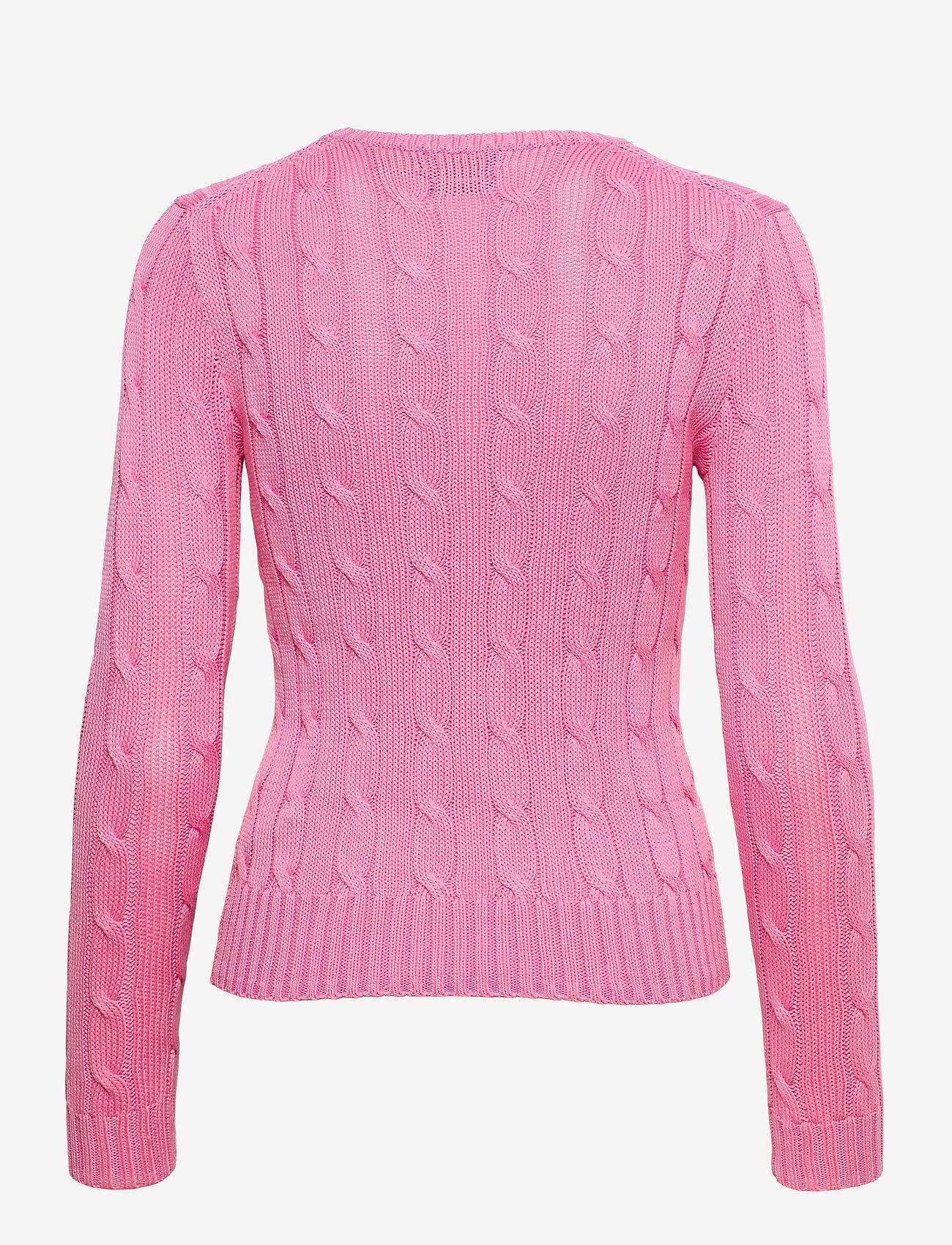 Polo Ralph Lauren - Cable-Knit Cotton Sweater - trøjer - harbor pink - 1