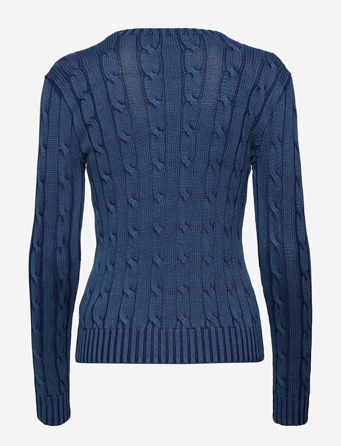 Polo Ralph Lauren - Cable-Knit Cotton Sweater - jumpers - indigo - 1