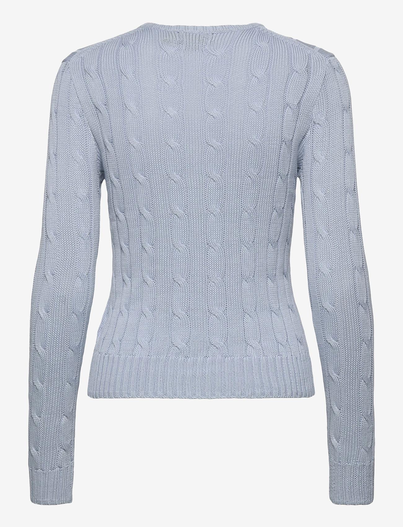 Polo Ralph Lauren - Cable-Knit Cotton Sweater - trøjer - pale blue - 1