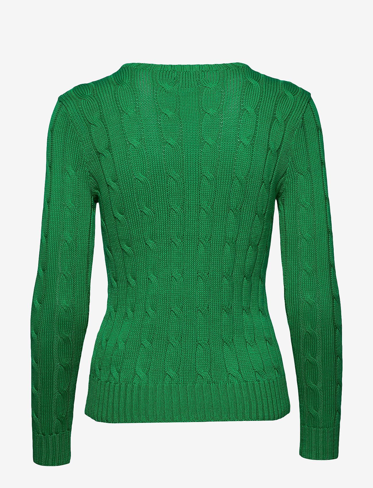 Polo Ralph Lauren - Cable-Knit Cotton Sweater - trøjer - preppy green - 1