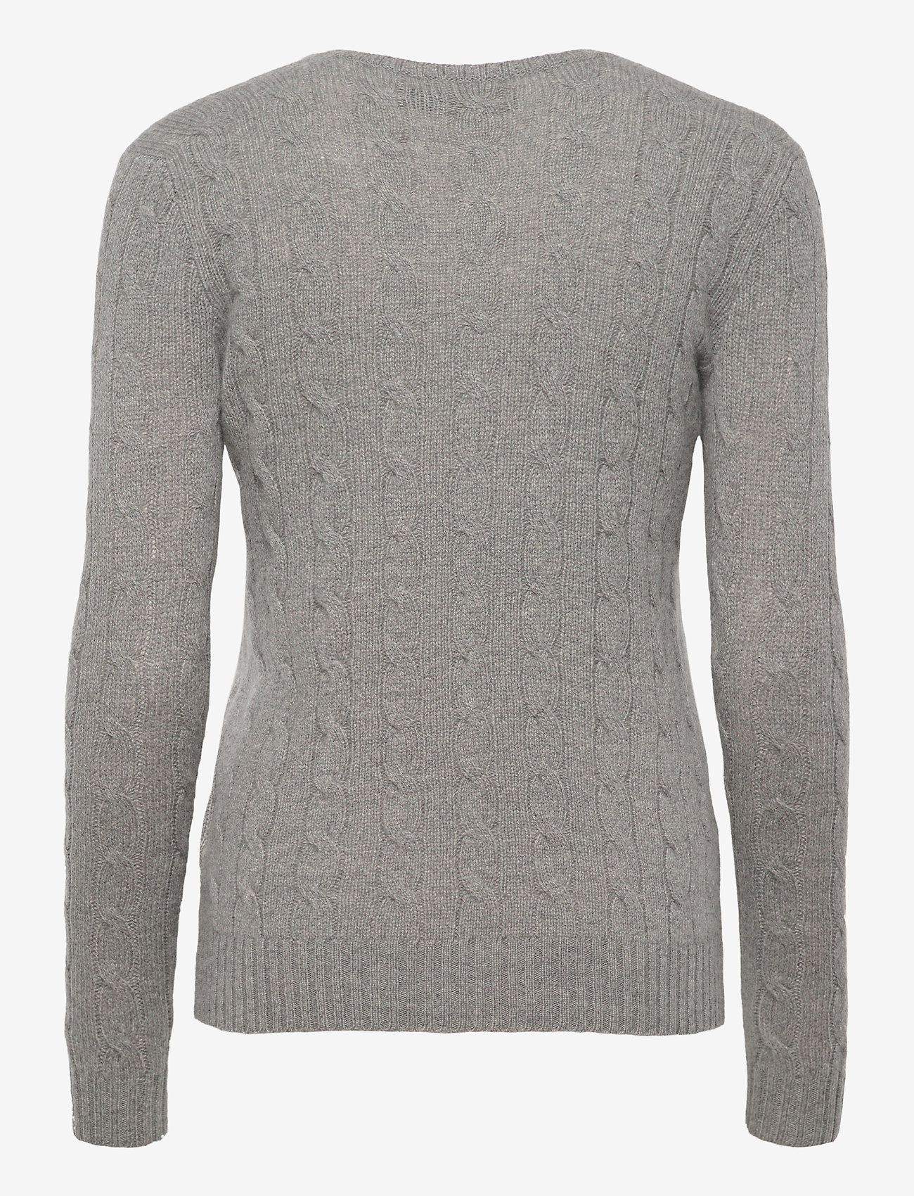 Polo Ralph Lauren - Cable Wool-Cashmere Sweater - swetry - fawn grey heath - 1