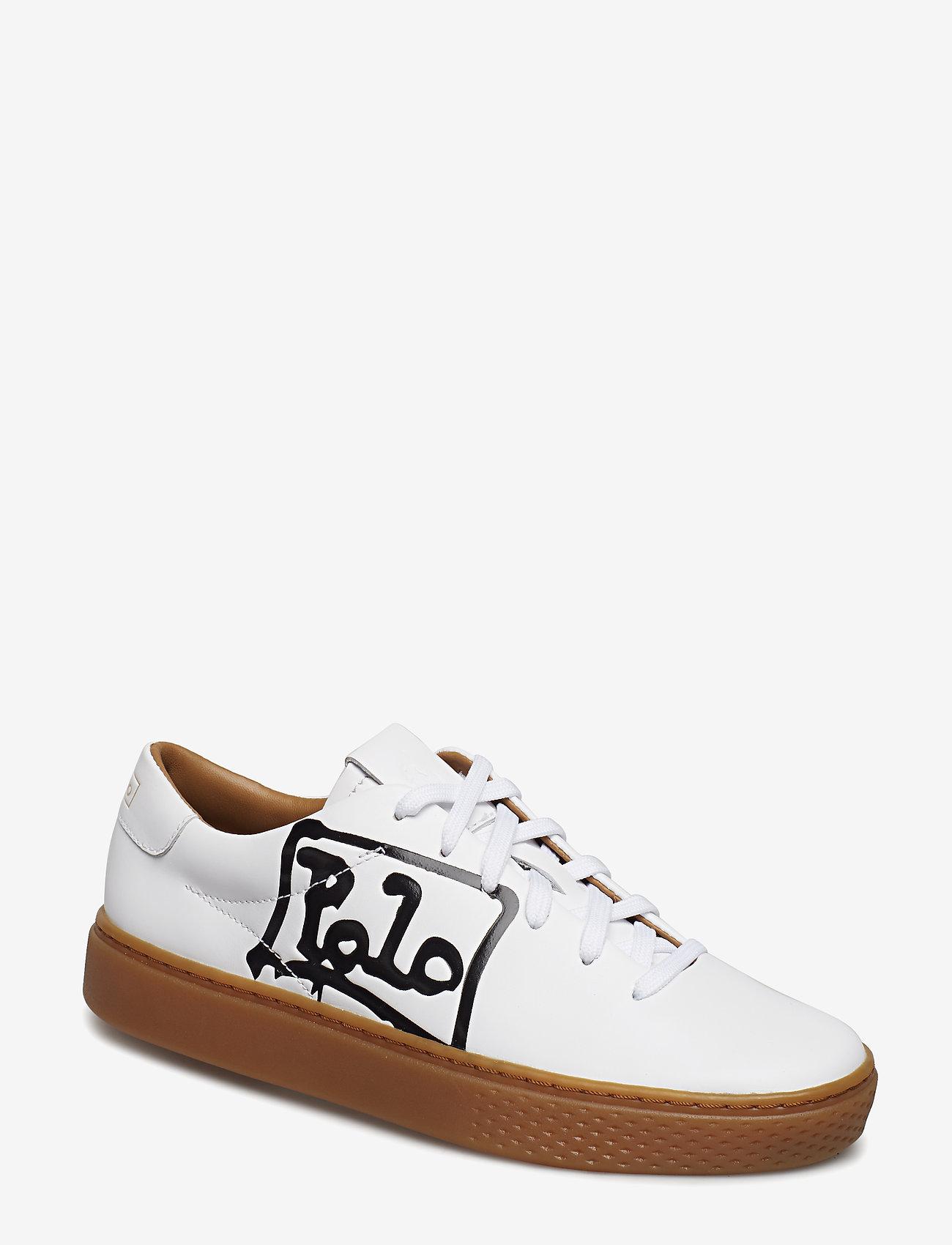 Court 125 Leather Sneaker (White/black