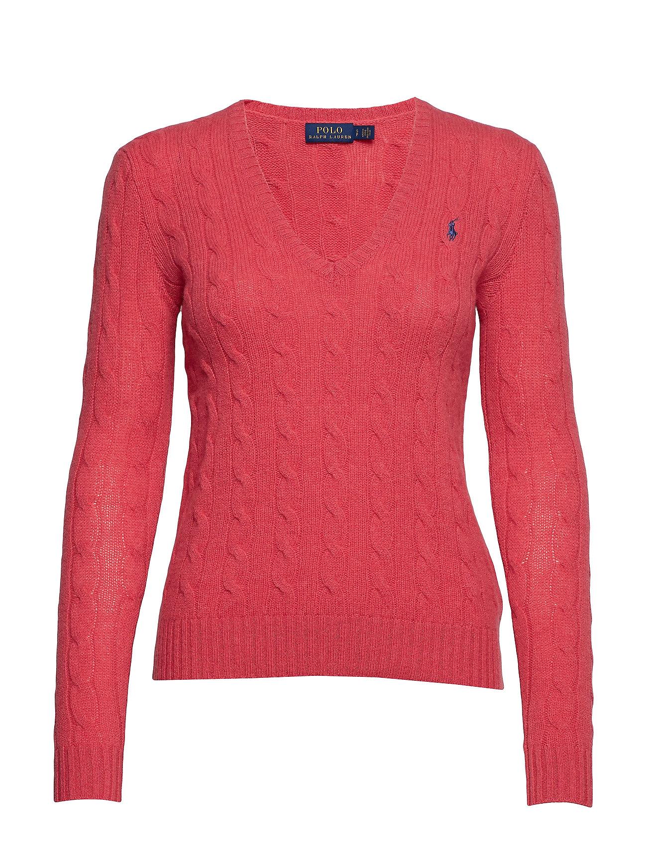 Polo Ralph Lauren Cable Wool-Cashmere Sweater - GERANIUM HEATHER