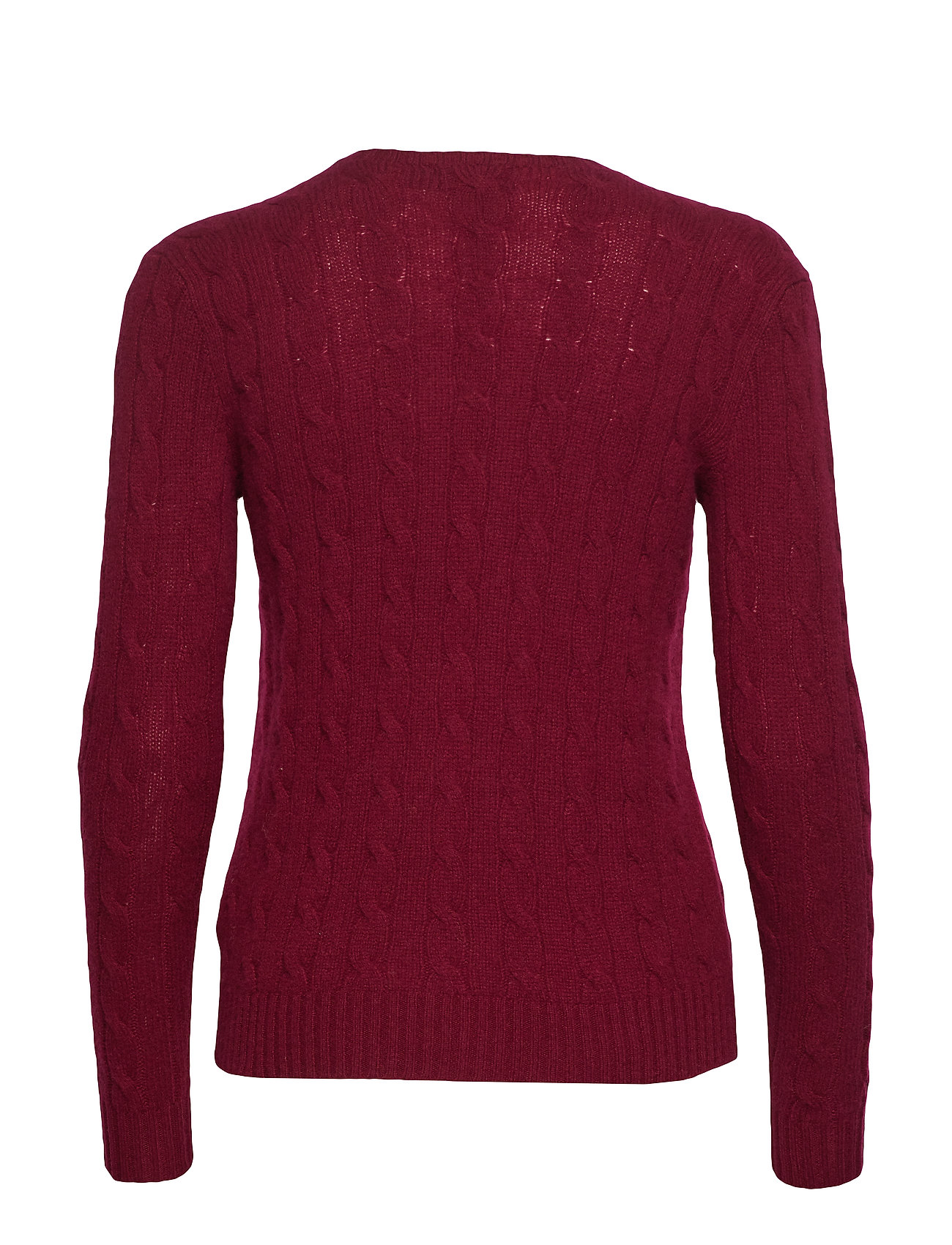 Wool SweaterburgundyPolo cashmere Cable Ralph Lauren hrsQdCt