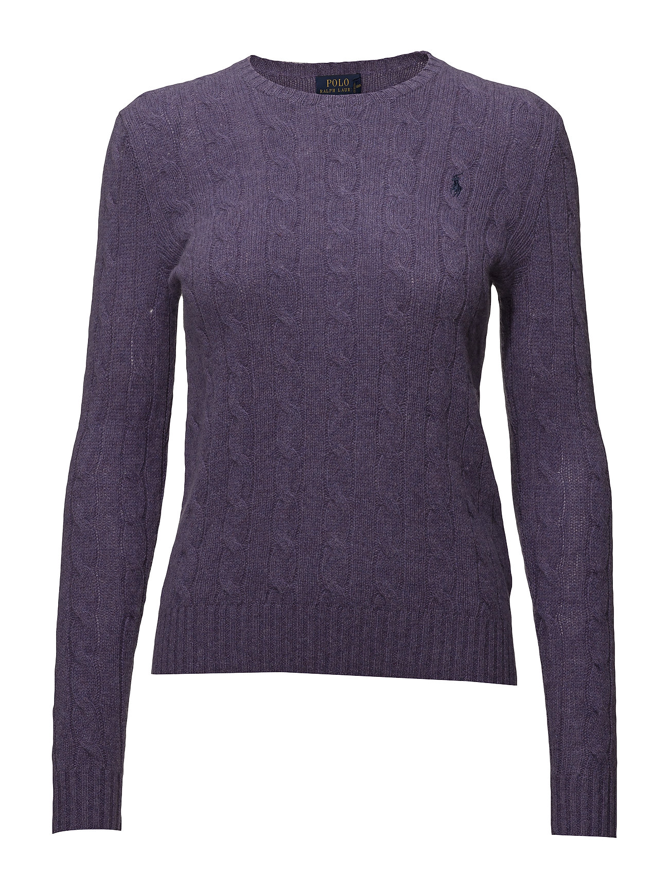 7736fba1d2925 Cable Wool-cashmere Sweater (Thistledown Heath) (906.75 kr) - Polo ...