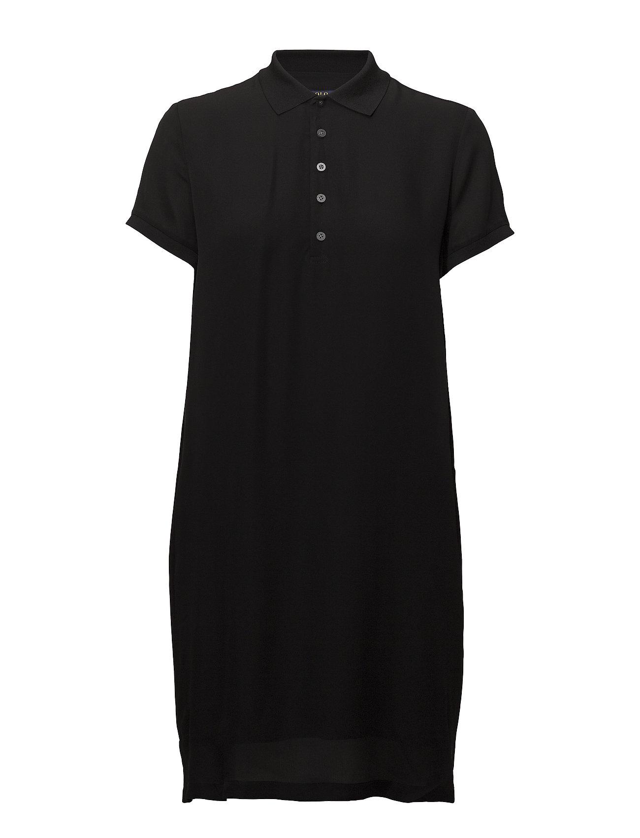 Silk Georgette Georgette Polo Dress Polo Dress Georgette Dress Polo Silk Silk b6yfgvY7