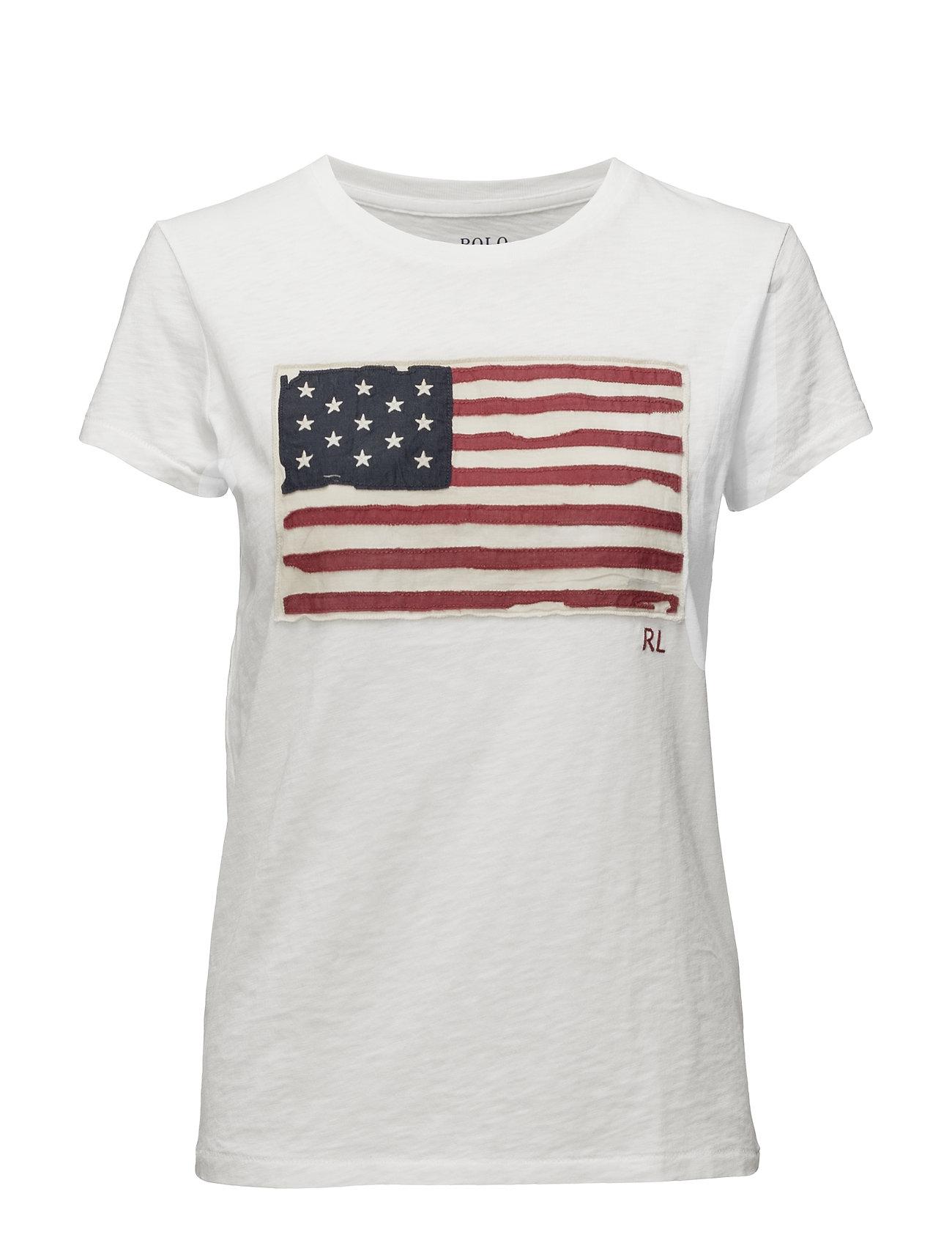 Polo Ralph Lauren Flag Jersey Graphic T-Shirt