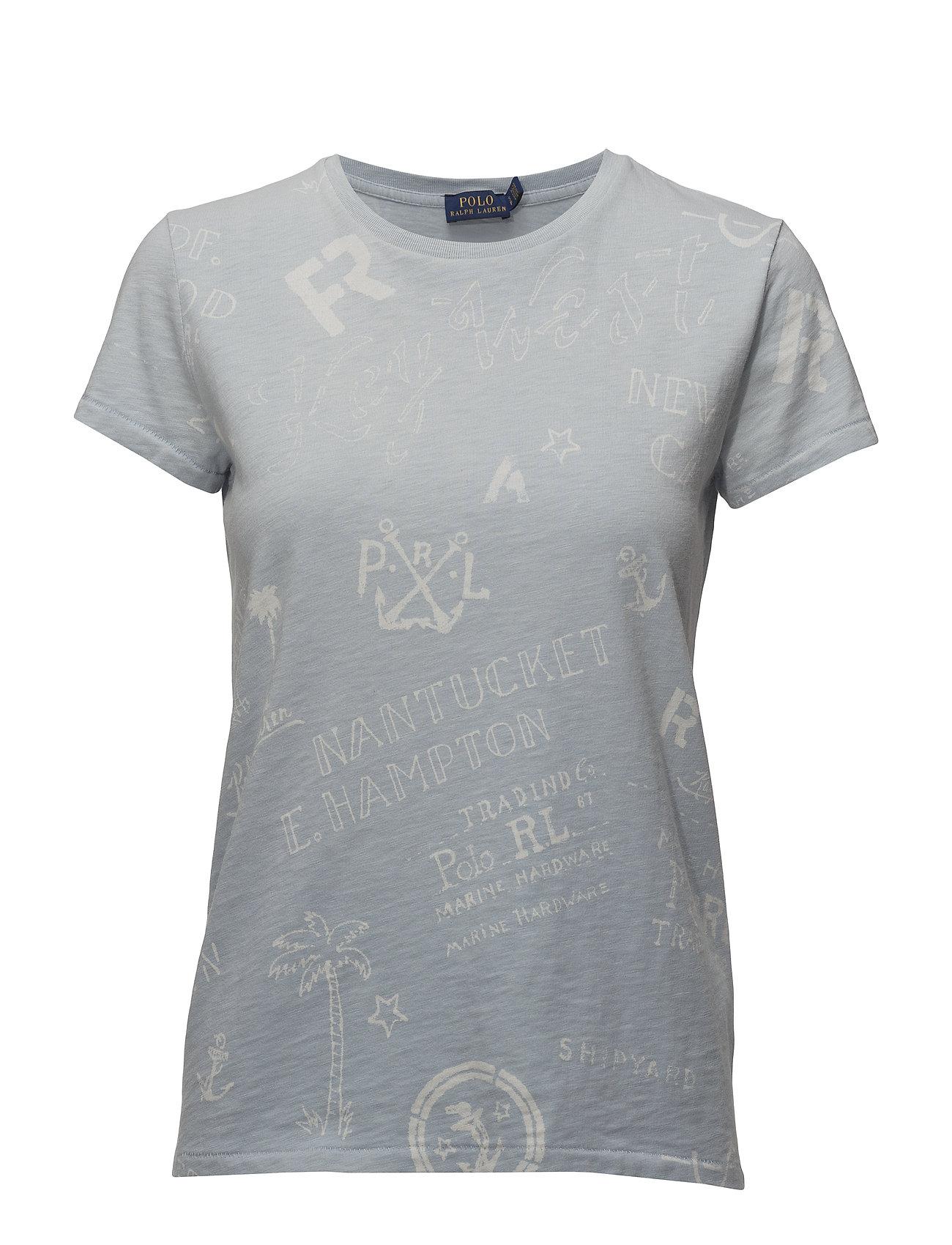 59fa70a7 ... sale polo ralph lauren nautical print cotton t shirt db5b5 a6109
