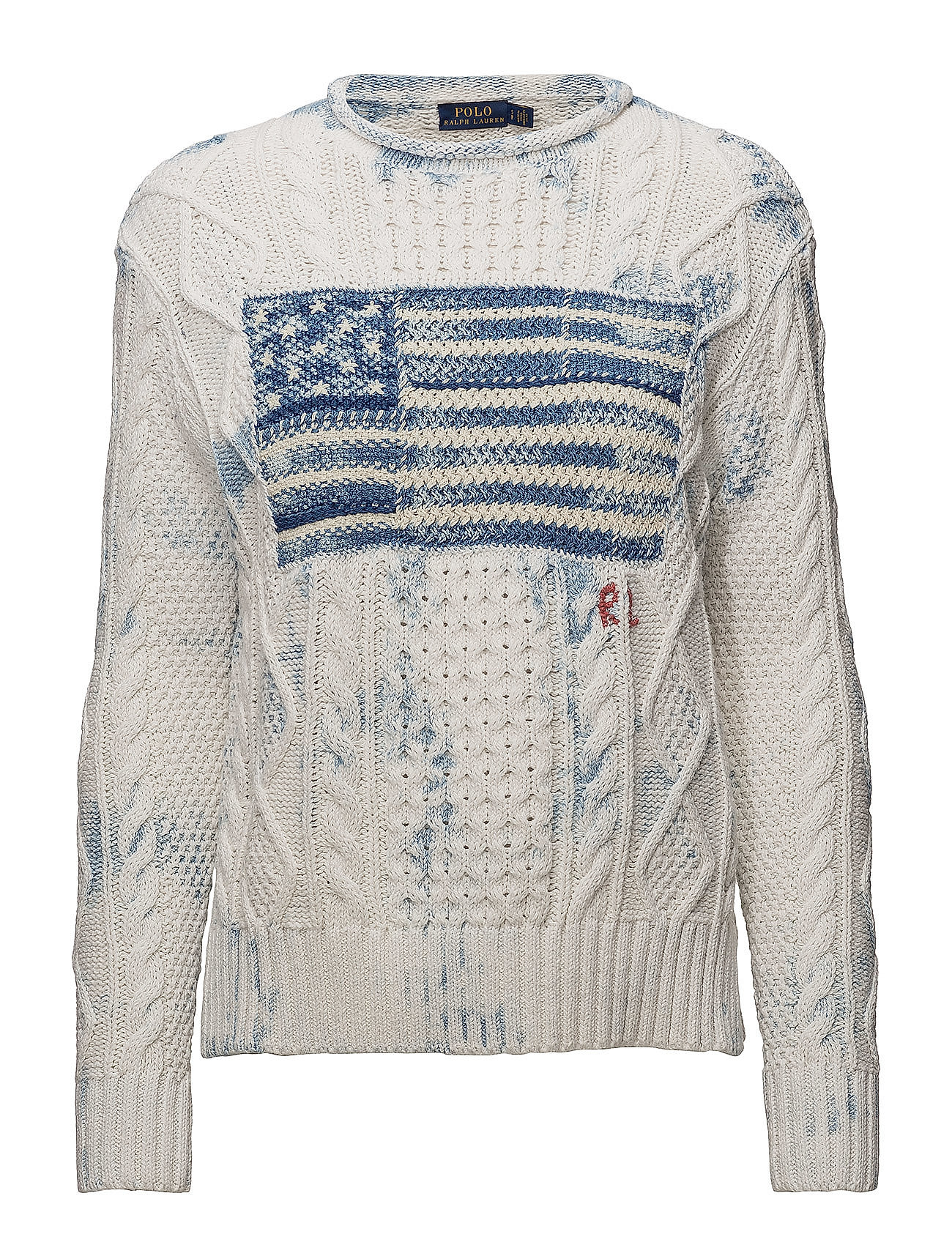 7cb2603dd ... switzerland polo ralph lauren indigo flag cotton sweater e71c7 baa67