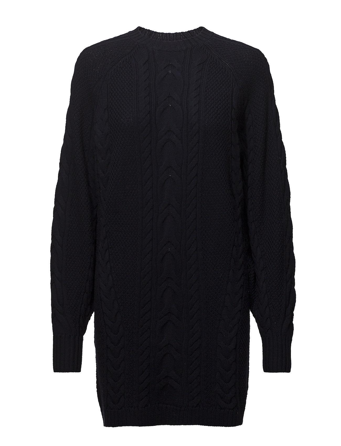 d72771b995 Aran-knit Wool Sweater Dress (Navy) (£136.95) - Polo Ralph Lauren ...