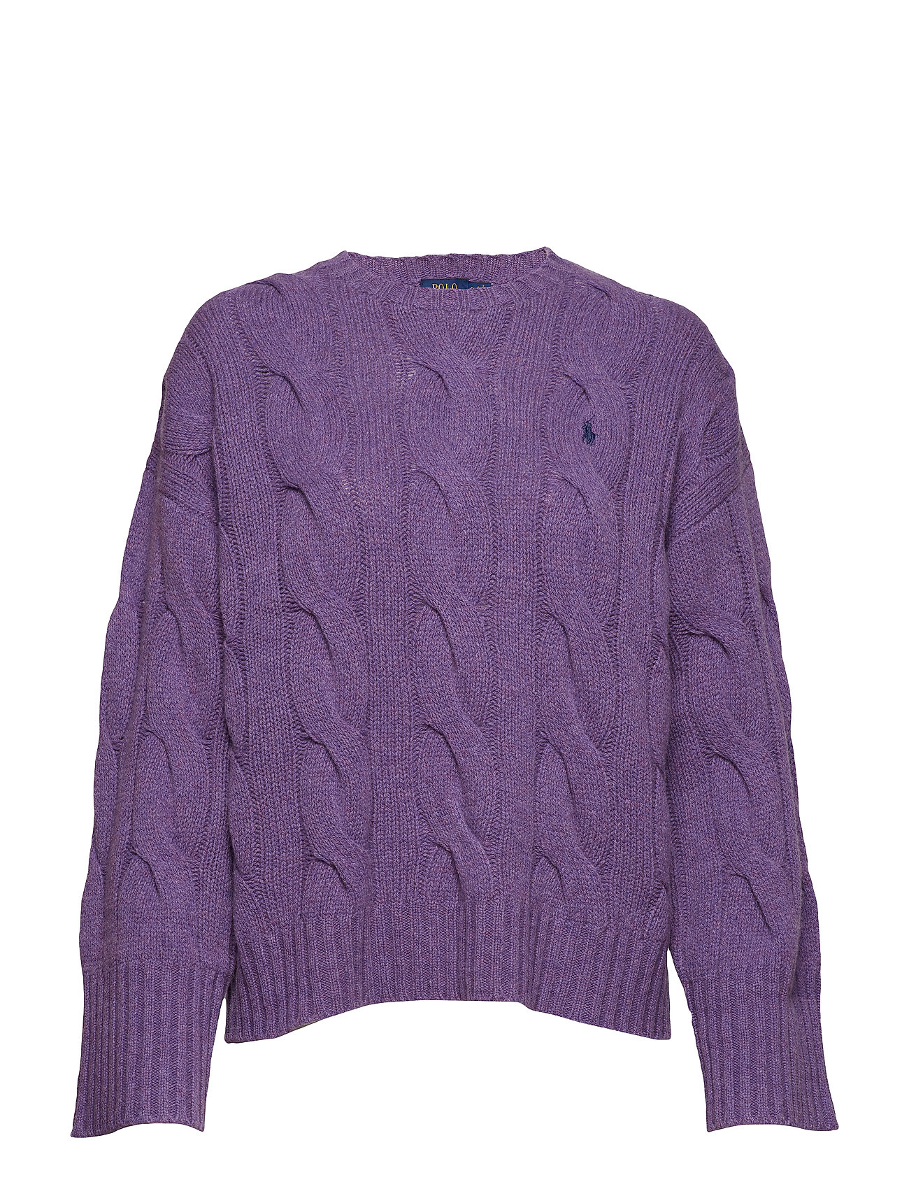 Wool HeathPolo Sweaterthistledown Ralph Dolman Lauren CderoWBx