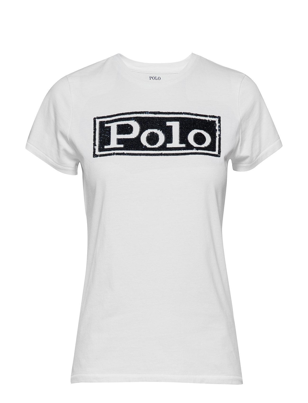 Polo Ralph Lauren 30/1 COTTON JRSY-SSL-KNT - WHITE