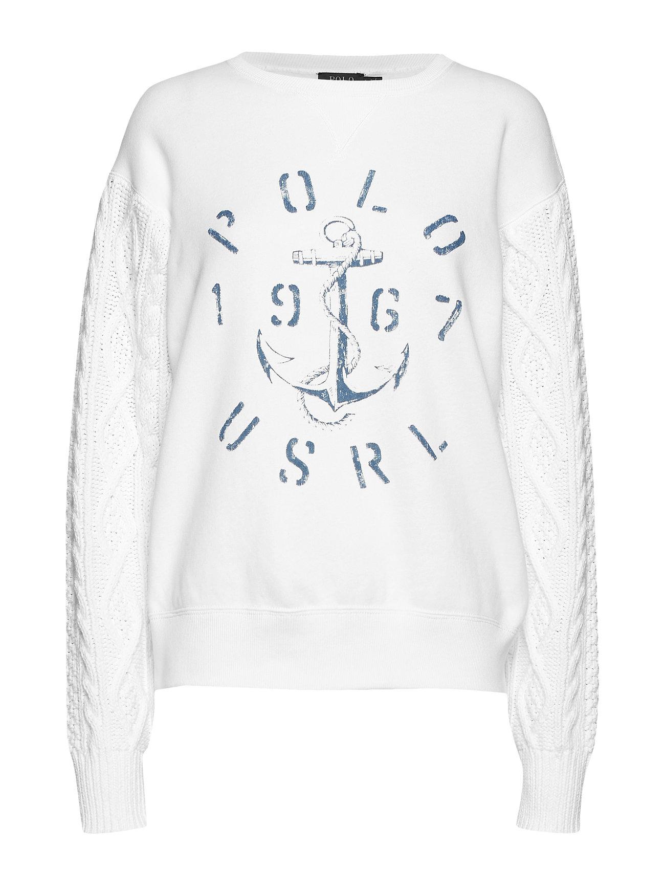 Polo Ralph Lauren LT WT SNL FLC/ARAN-LSL-KNT