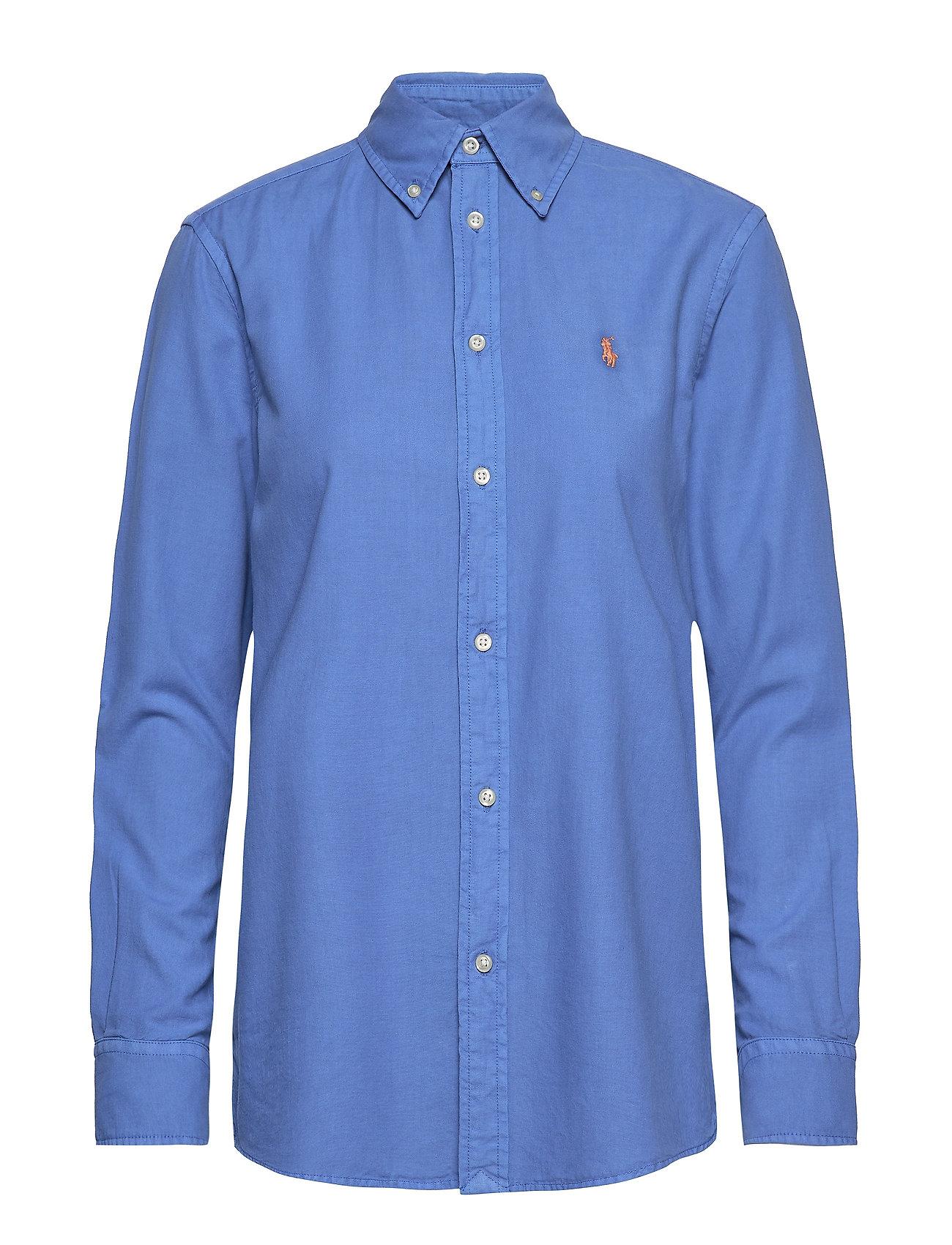 Polo Ralph Lauren GD LT WT OXFORD-LSL-SHT - COLBY BLUE