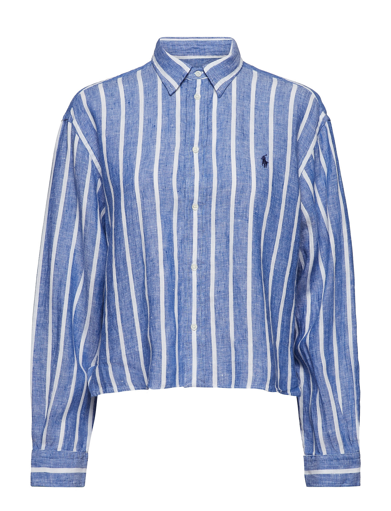 Polo Ralph Lauren LINEN STRIPES-LSL-SHT
