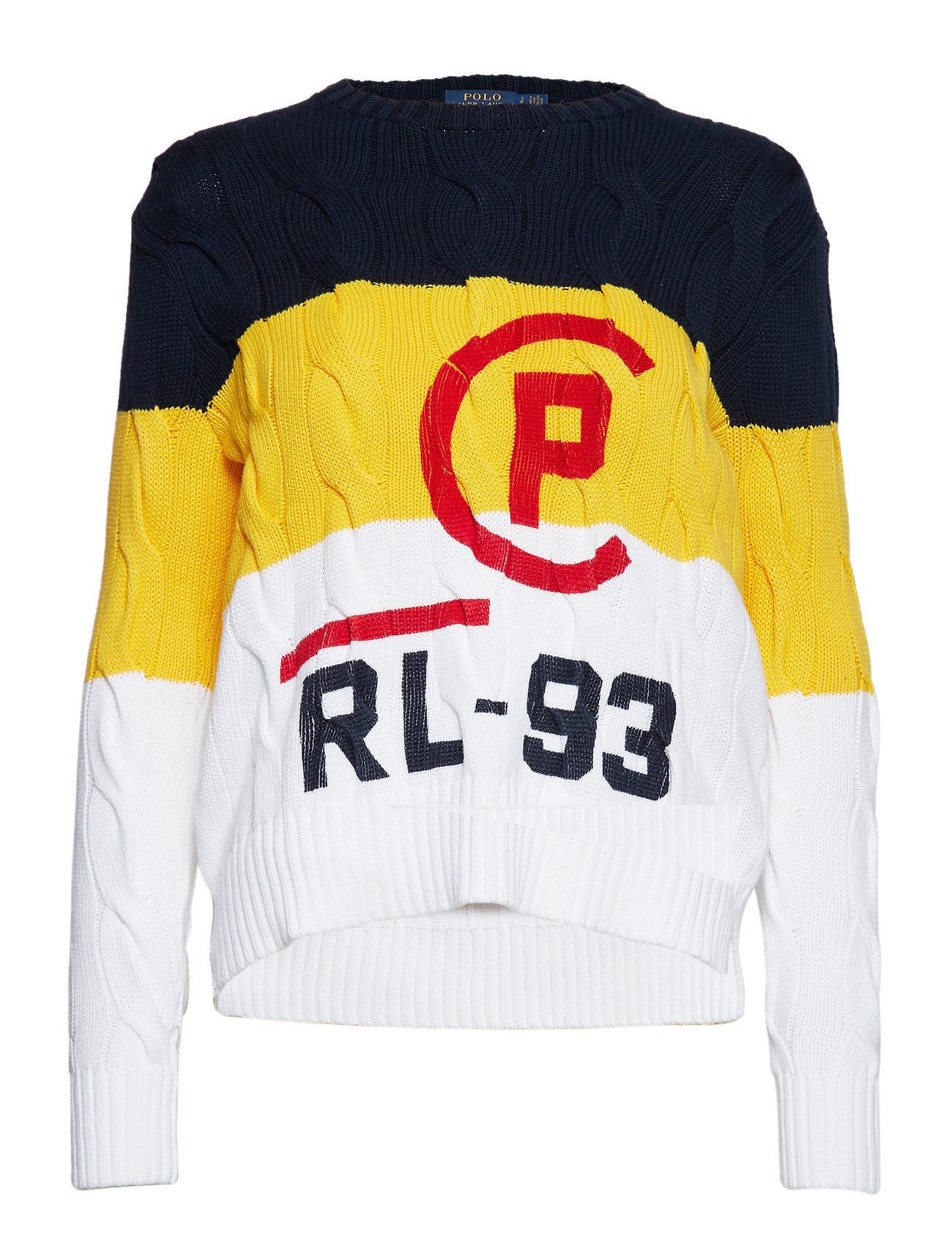 Polo Ralph Lauren OVERSIZED CABLE-LSL-SWT