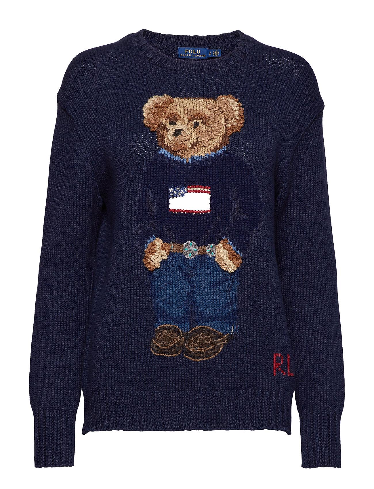 Polo Ralph Lauren COTTON BEAR LSL SWT Ögrönlar