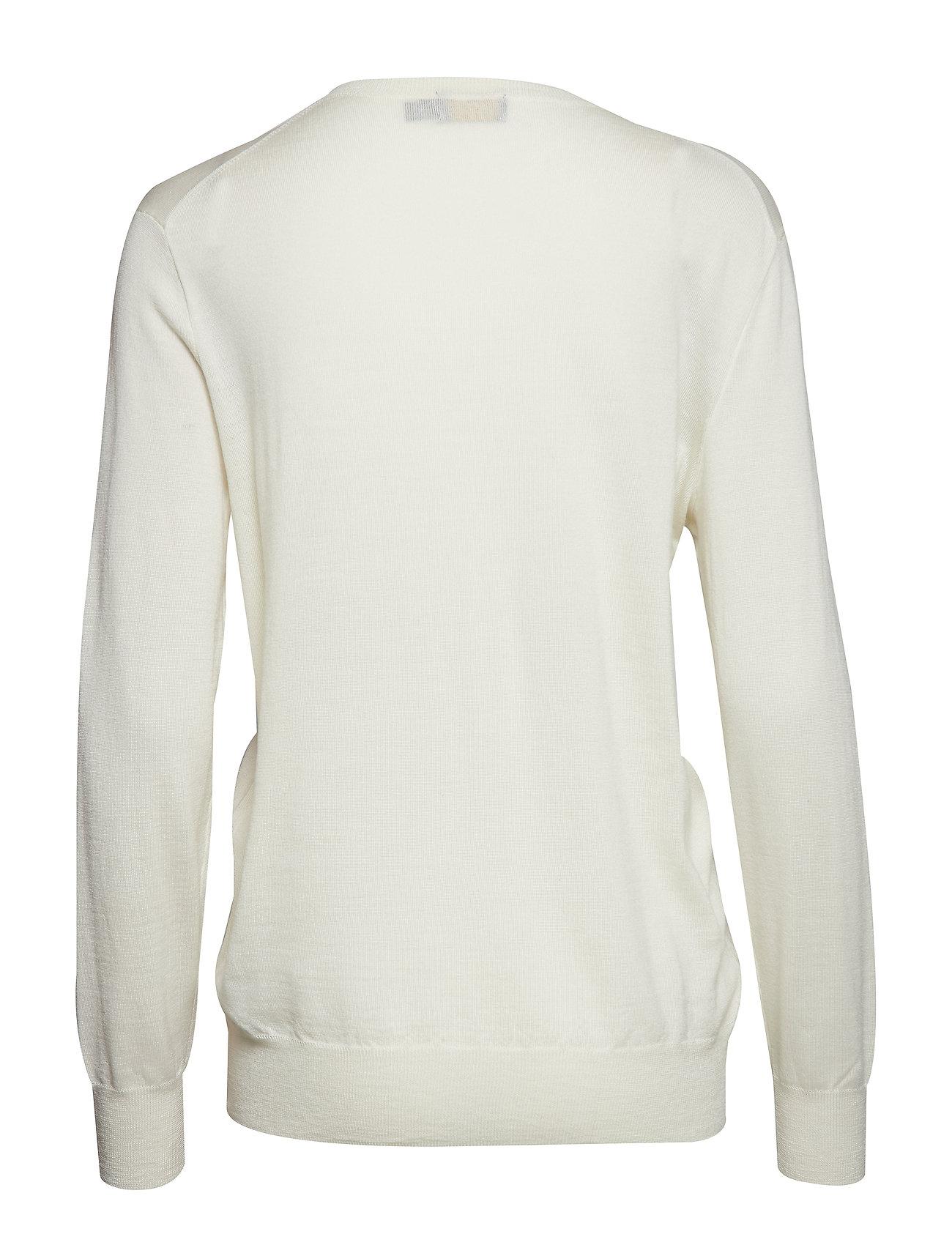 neck Silk V Ralph blend SweatercreamPolo Lauren zVqSUMp