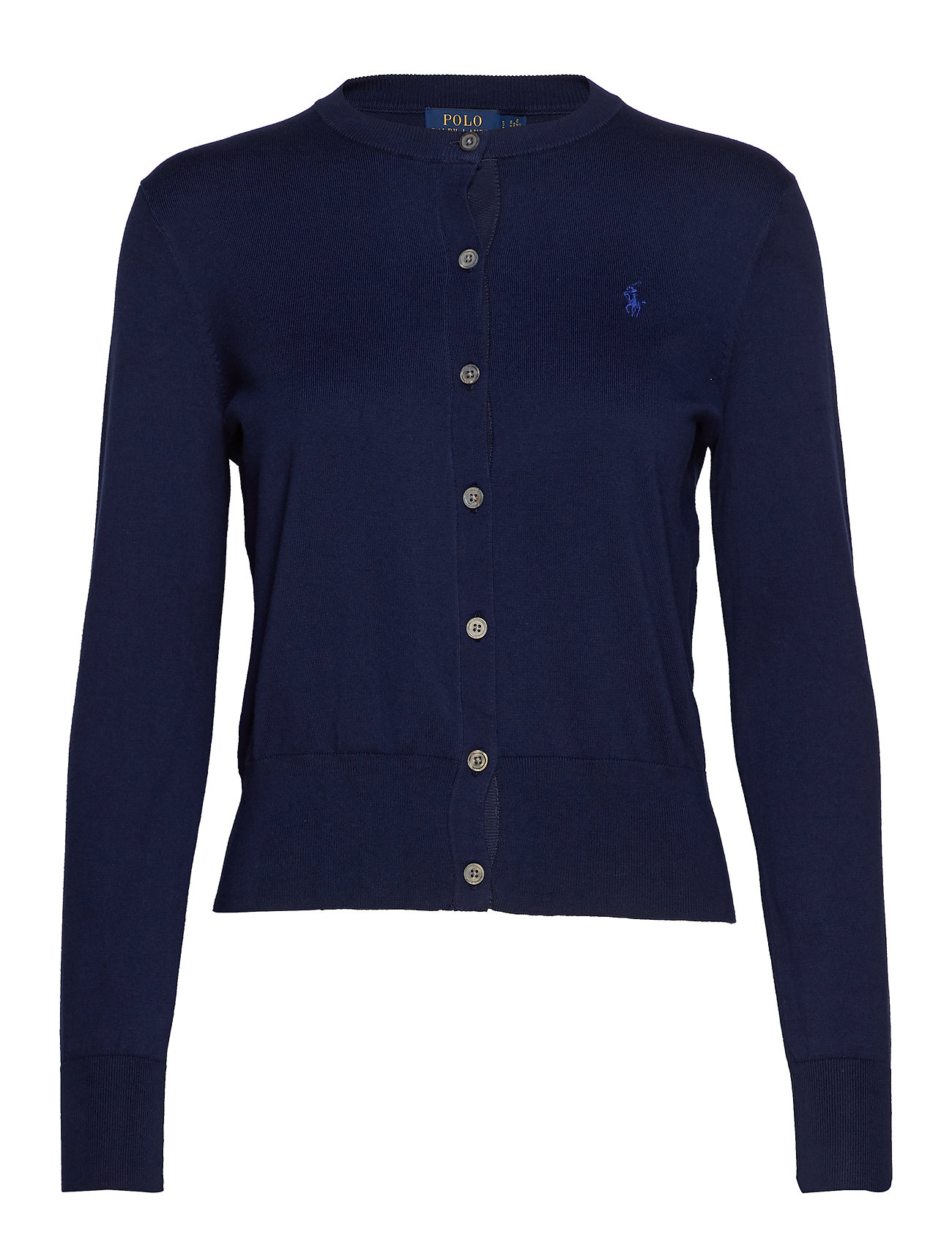 Polo Ralph Lauren Cotton Cardigan Sweater - BRIGHT NAVY