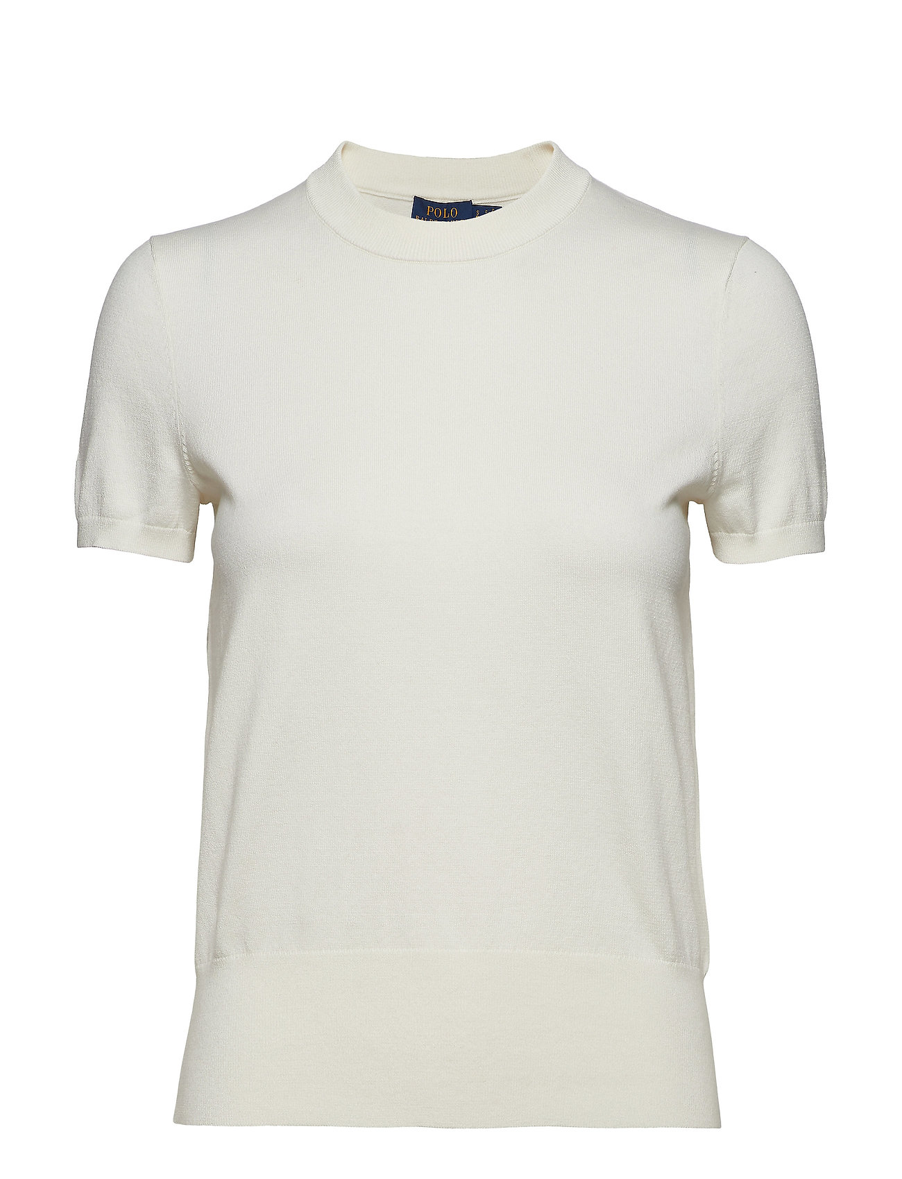 Polo Ralph Lauren Cotton Short-Sleeve Sweater - COLLECTION CREAM